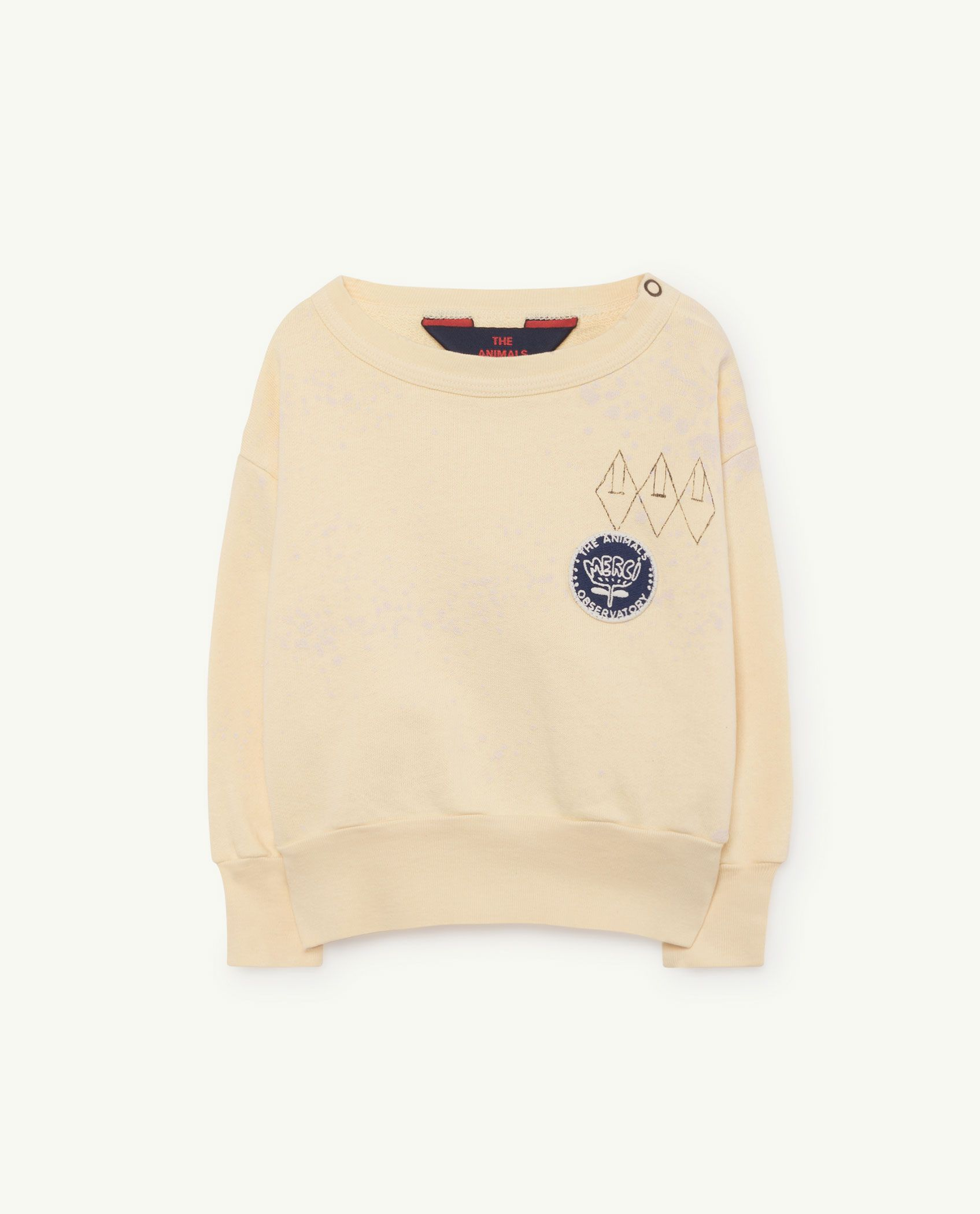 Yellow Splashes Bear Sweatshirt img-1