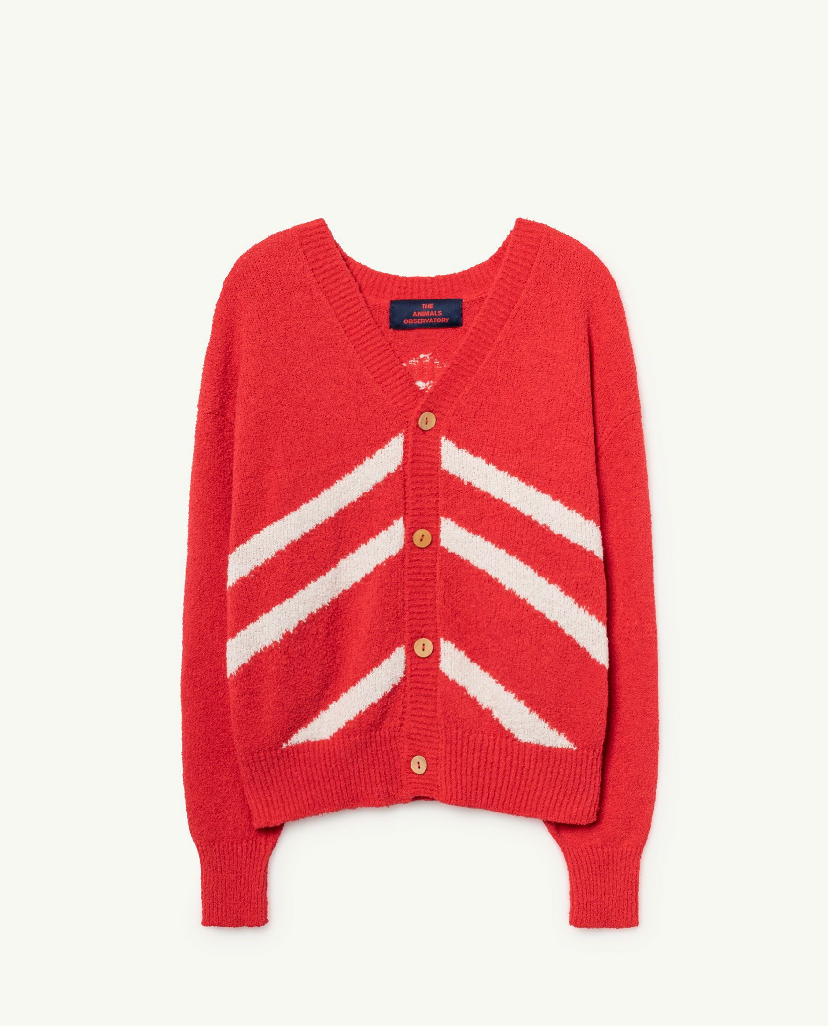 Red Racoon Cardigan img-1