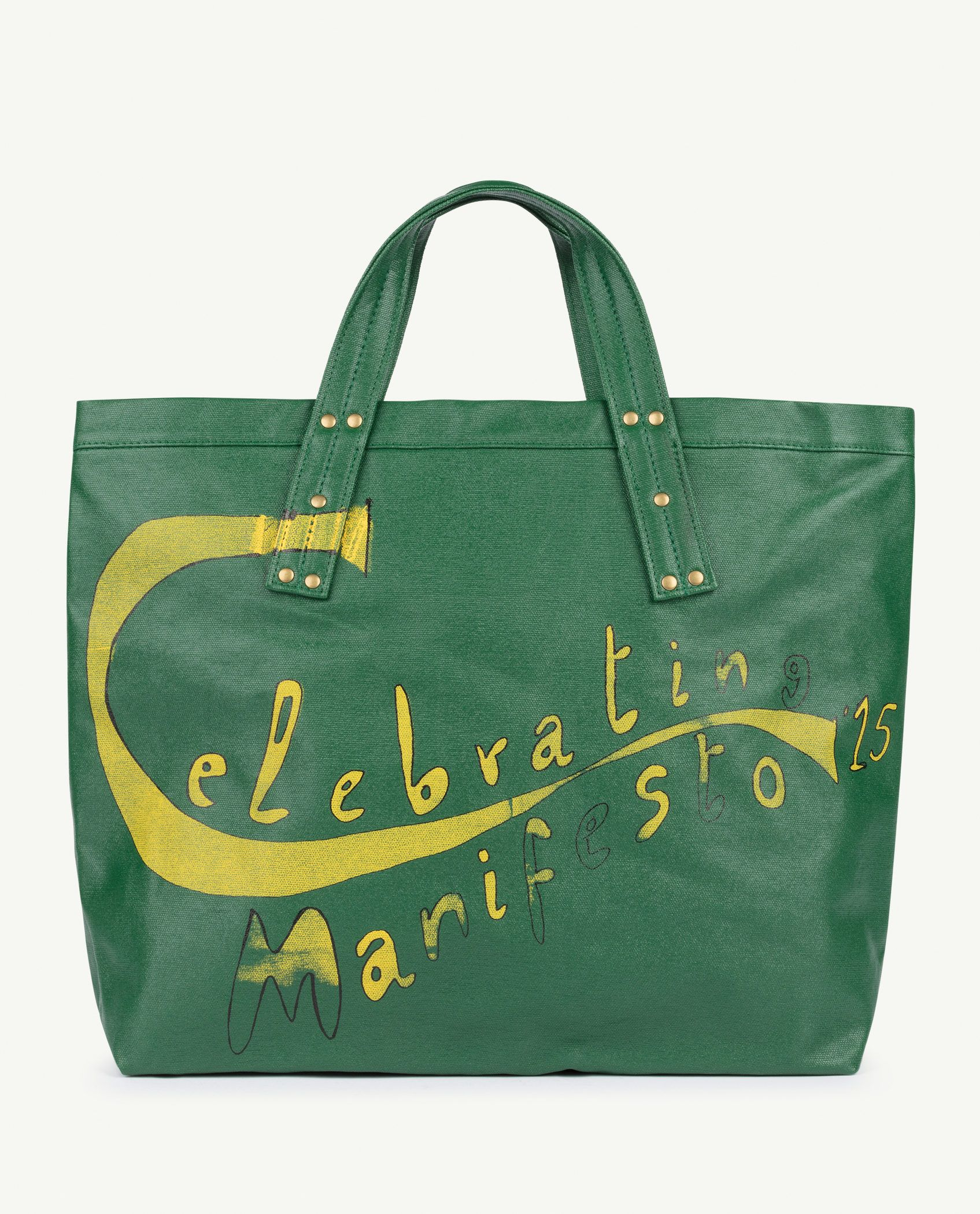Green Manifesto Tote Bag img-1
