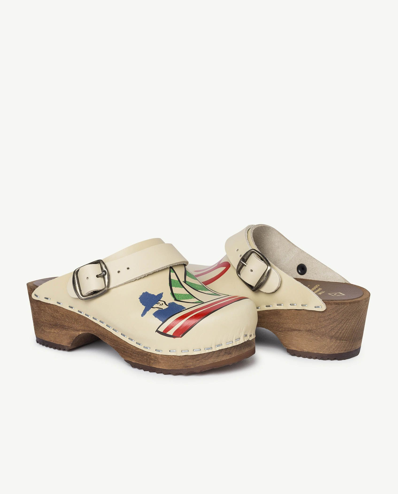 White Clogs Shoes img-1