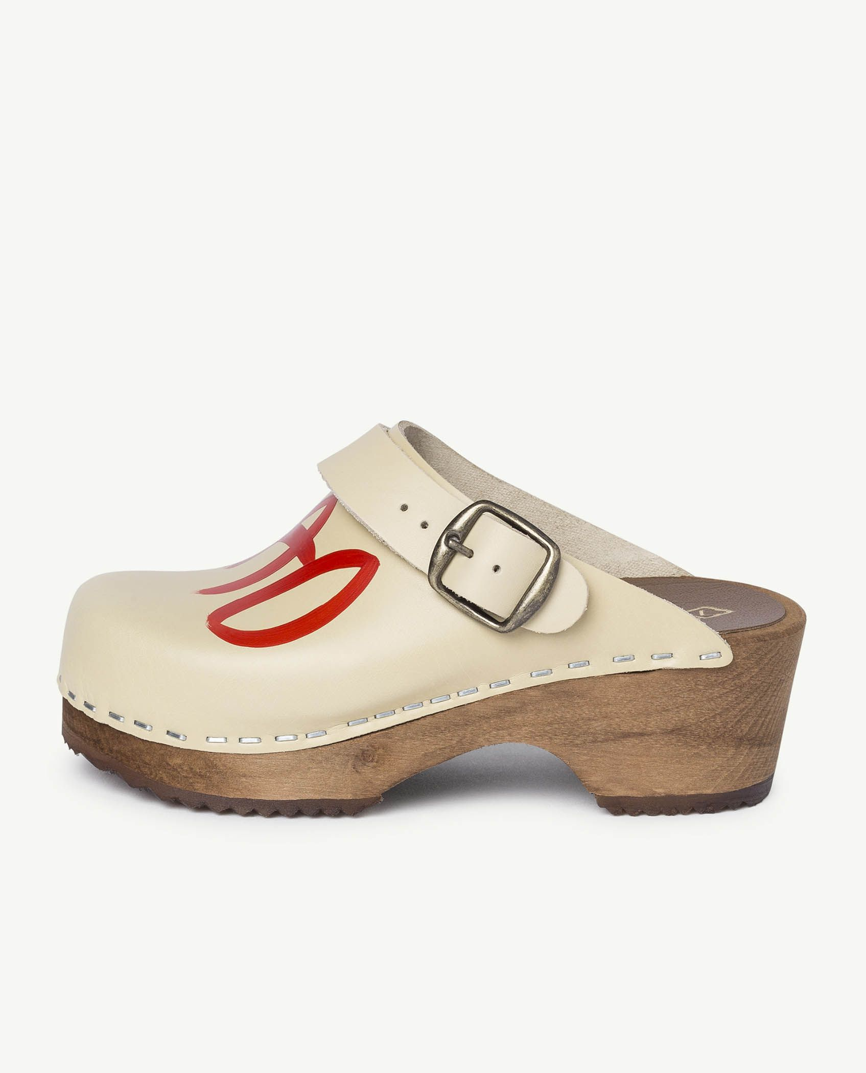 White Clogs Shoes img-2