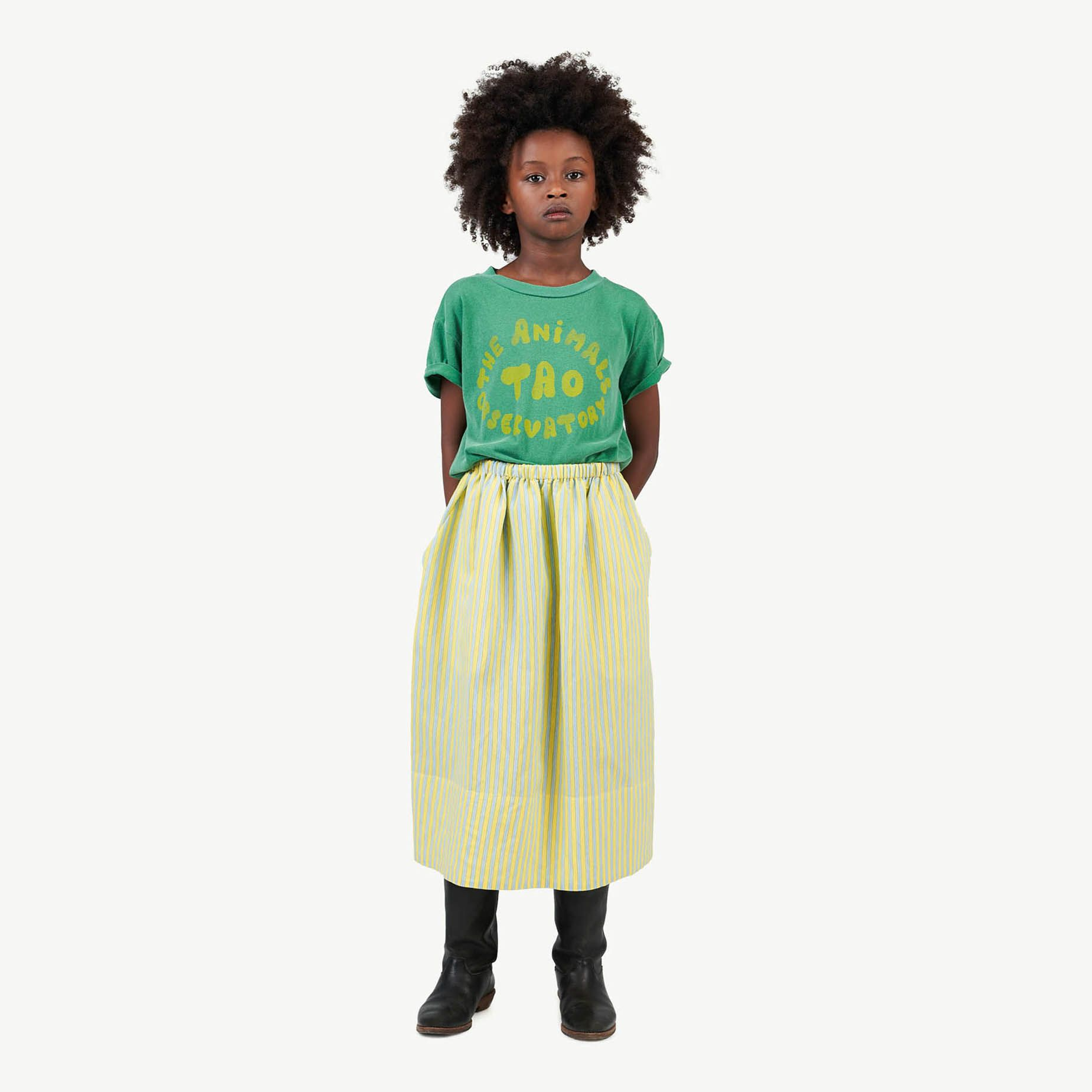 Soft Green Rooster T-Shirt img-4