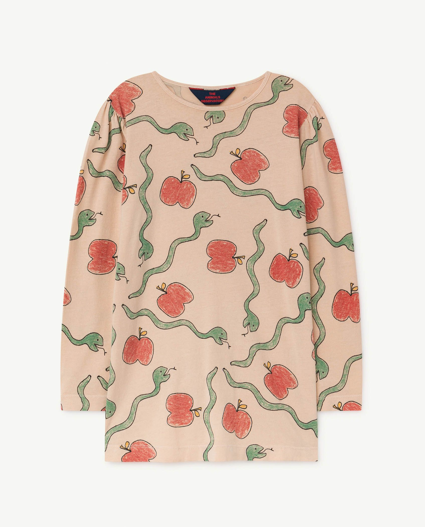 Apples and Snakes Pigeon Dress img-1