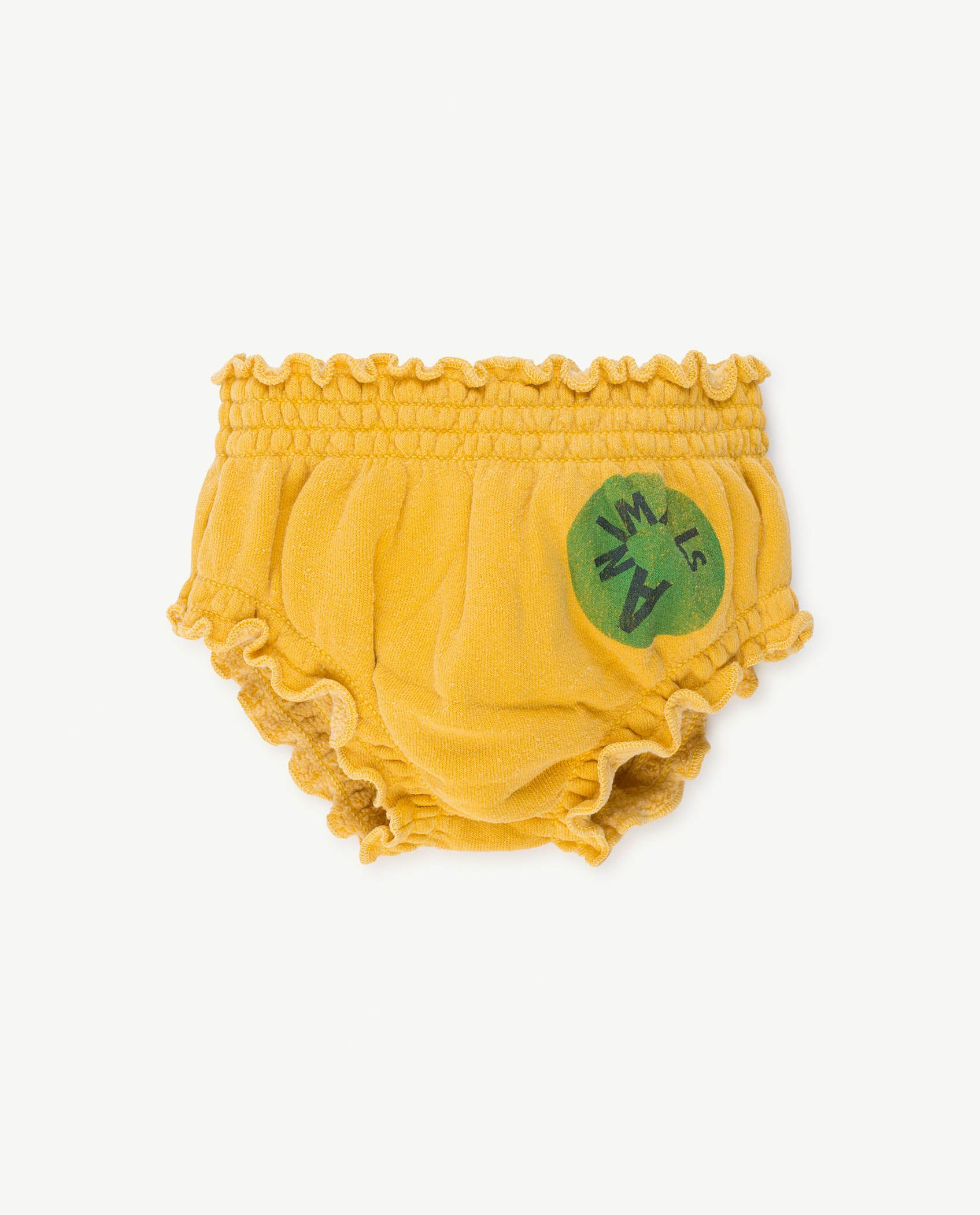 Yellow Animals Toads Culotte img-1