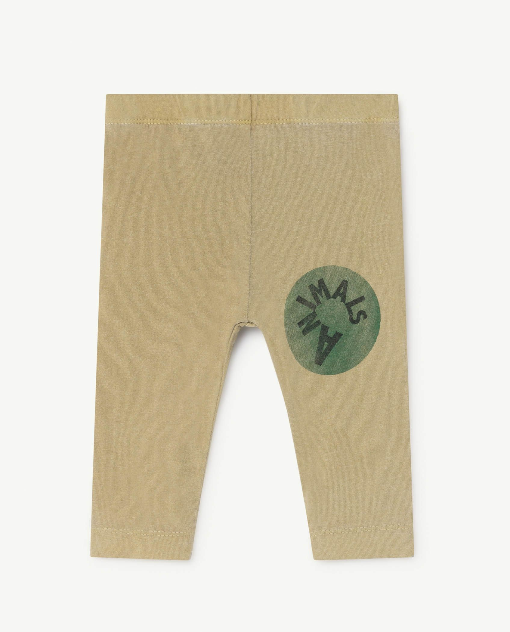 Khaki Penguin Leggings img-1