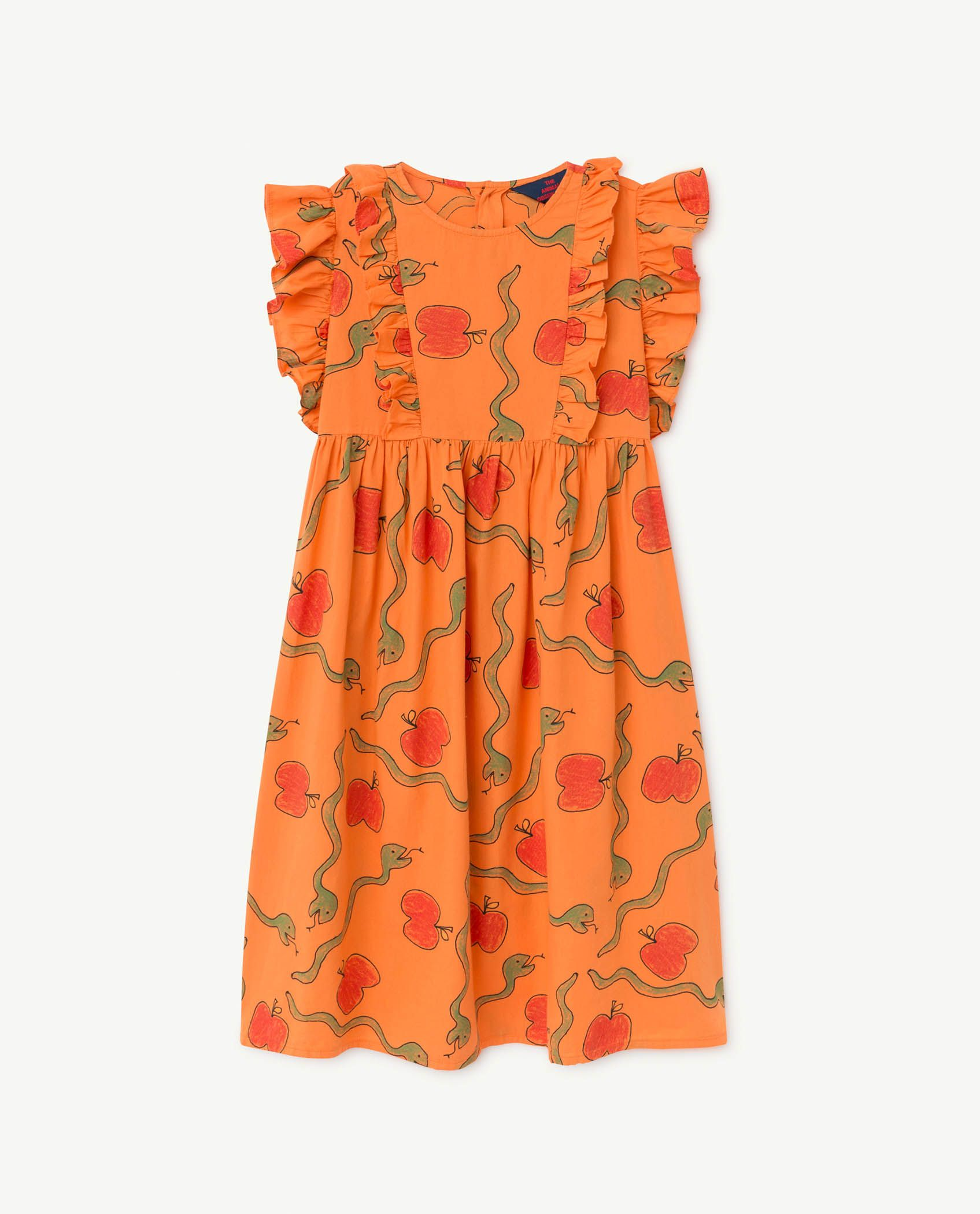 Apples and Snakes Otter Dress img-1