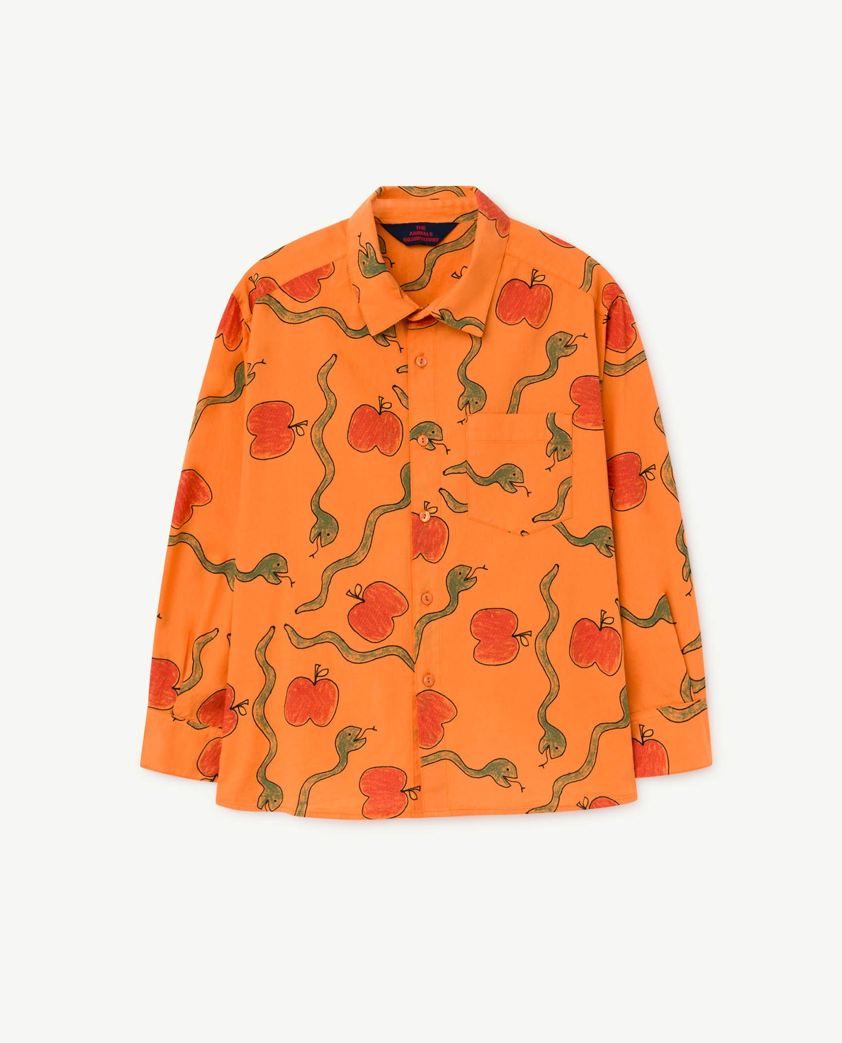 Apples and Snakes Wolf Shirt img-1