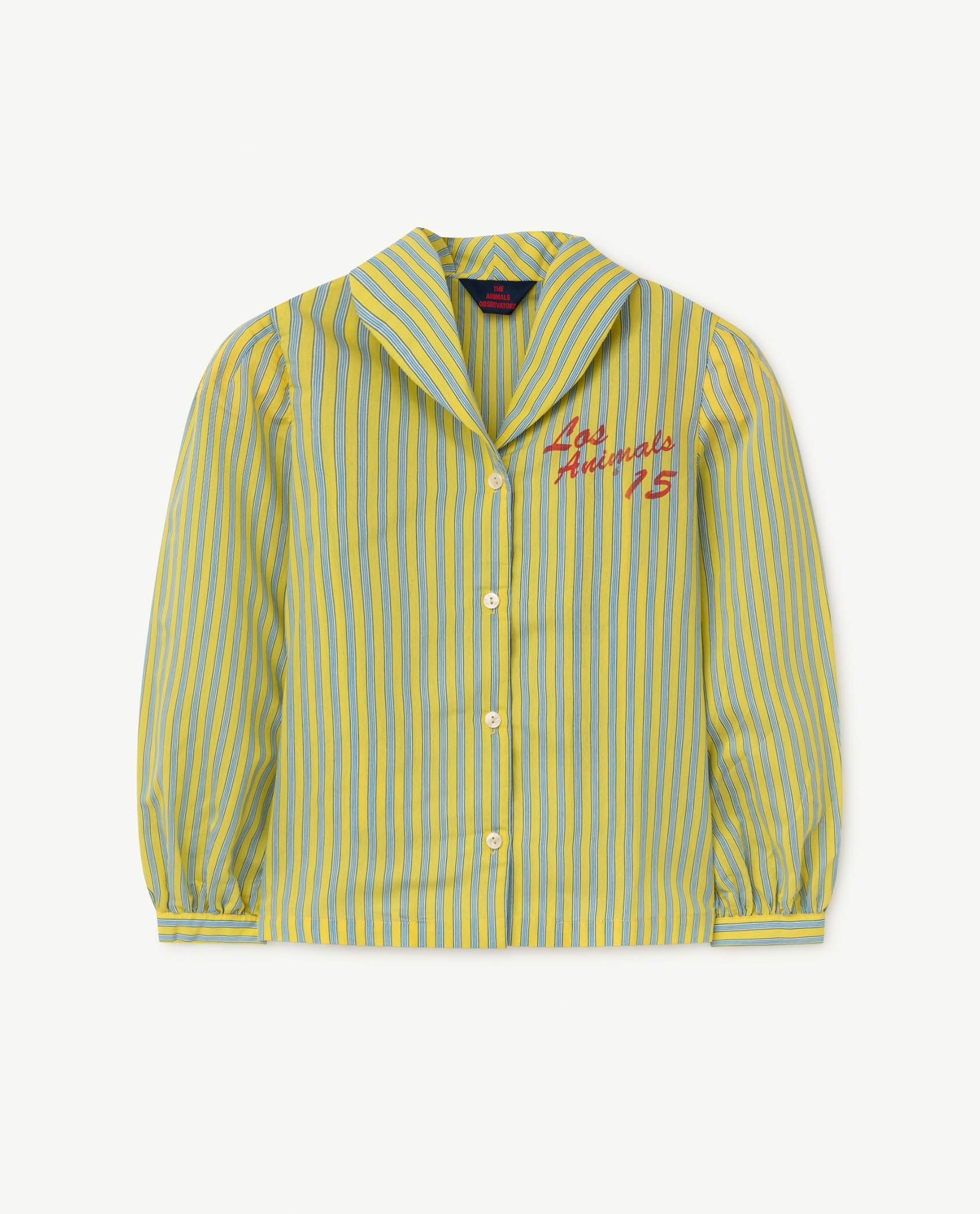 Yellow Gadfly Shirt img-1