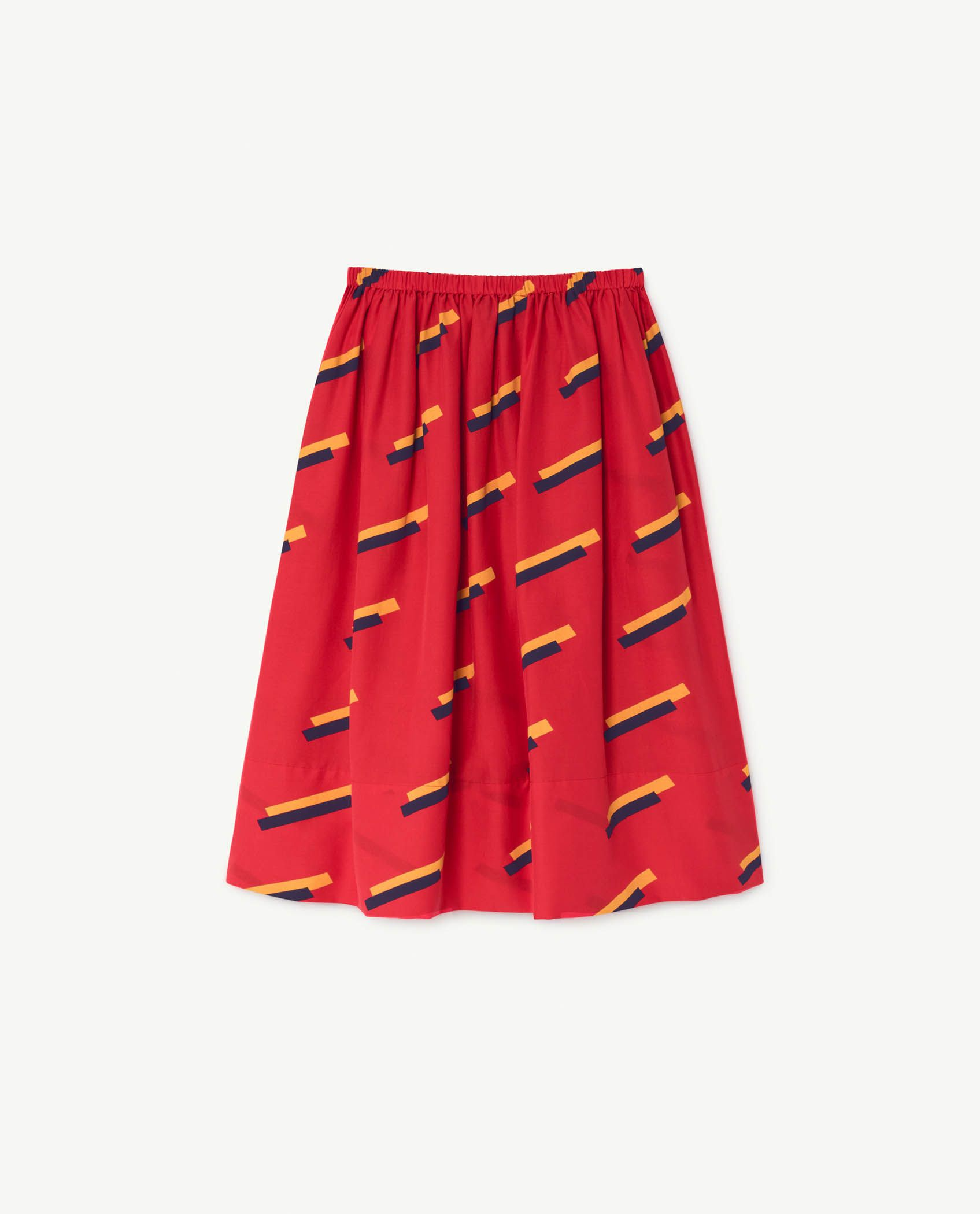 Red 80's Sow Skirt img-2