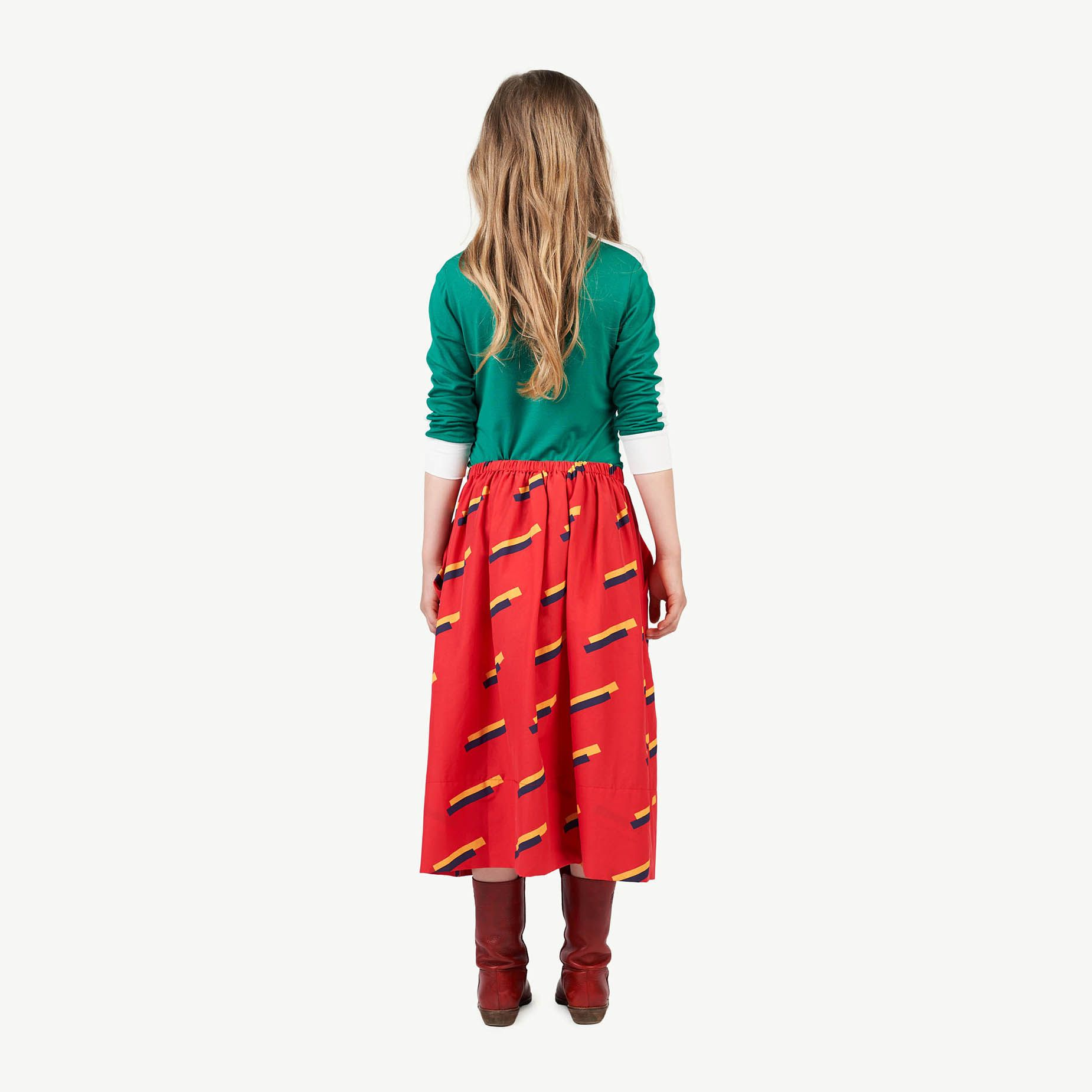 Red 80's Sow Skirt img-6