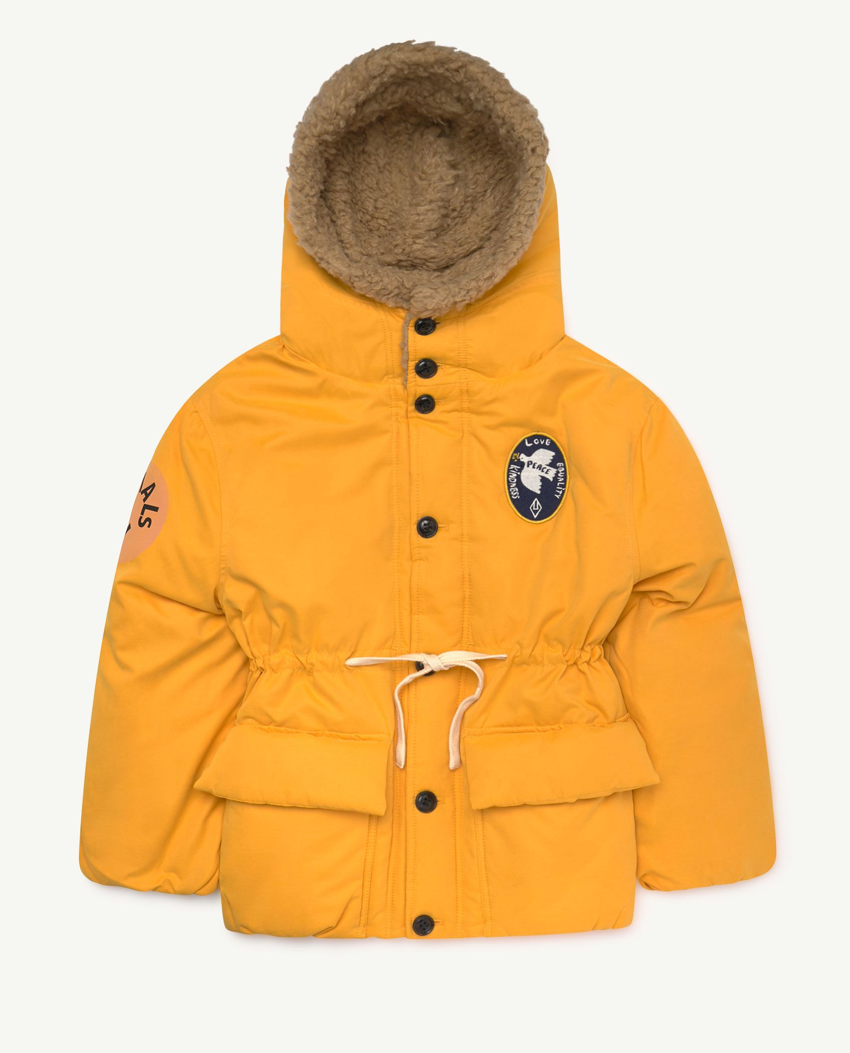 Yellow Calf Jacket img-1