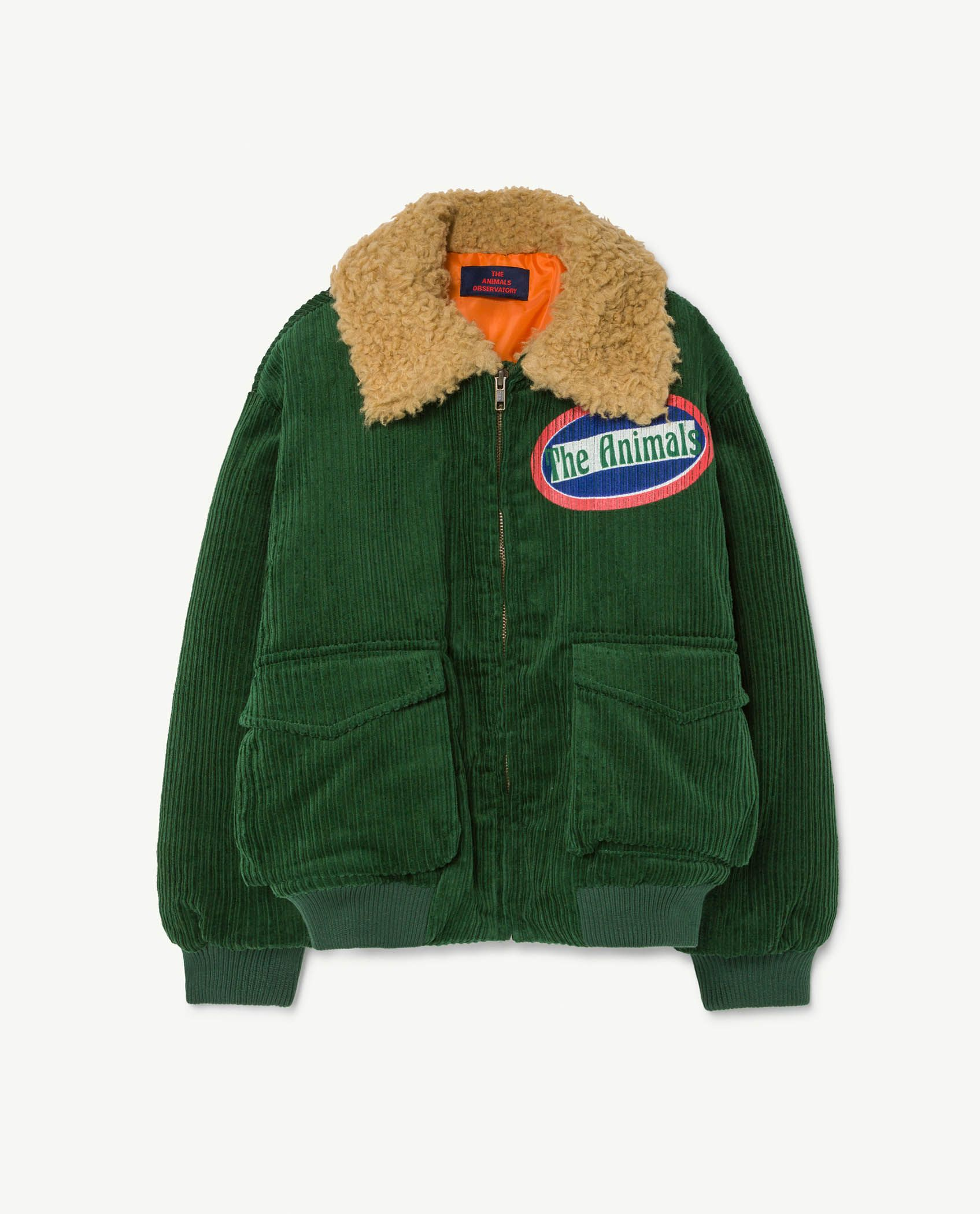 Green Grass Tiger Jacket img-1
