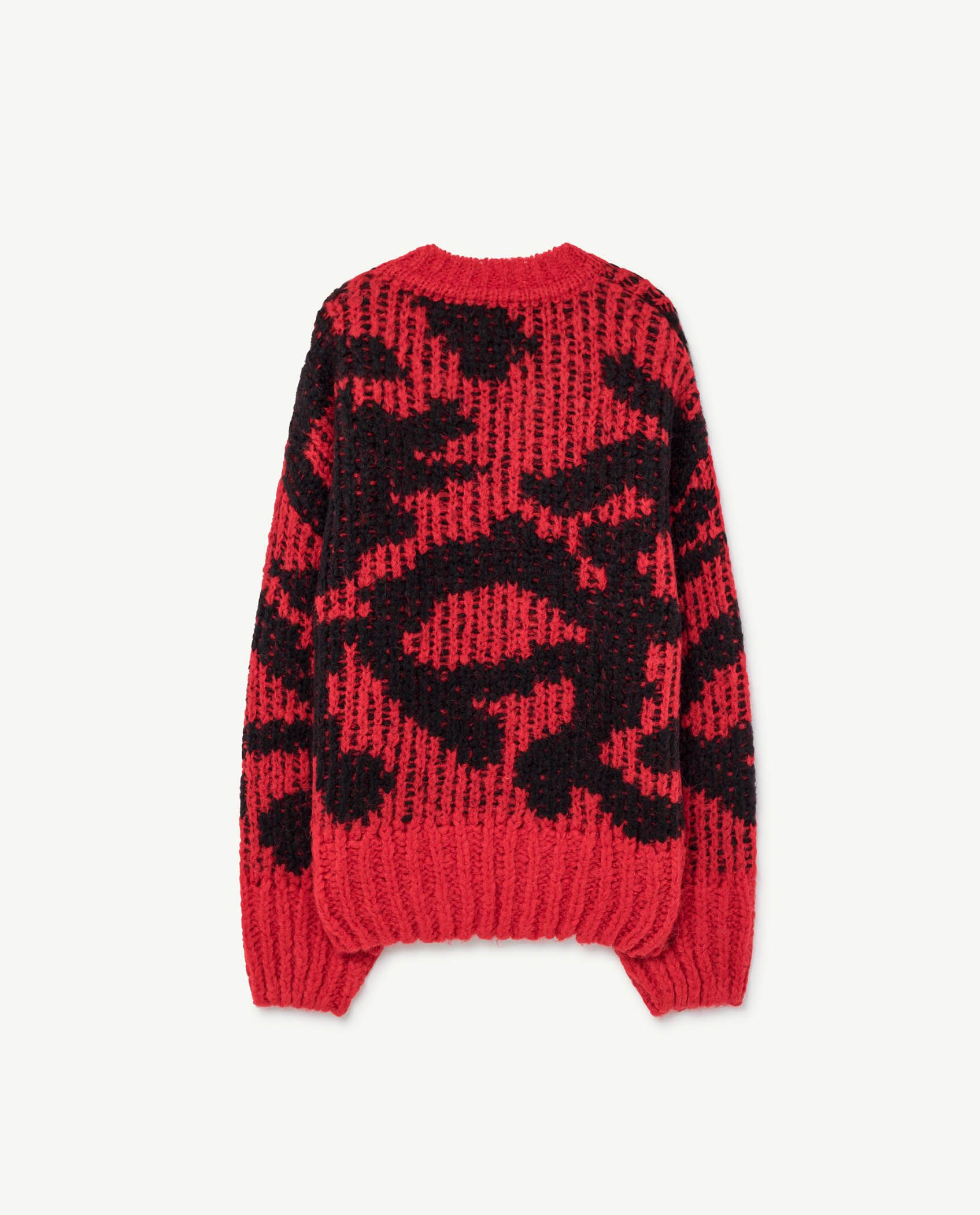 Red Arty Racoon Cardigan img-2
