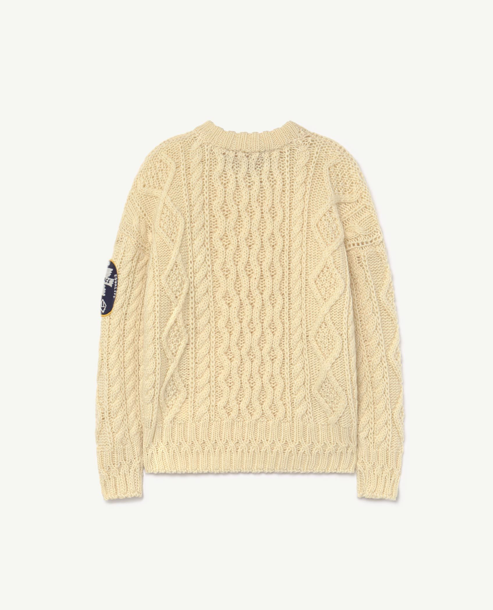 Raw White Blowfish Sweater img-2
