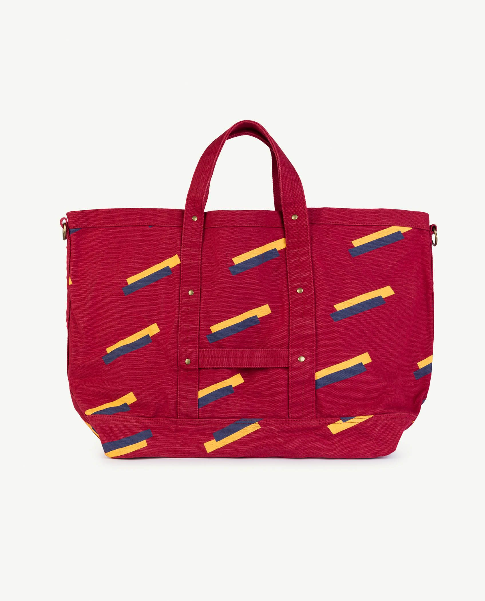 Red Apple 80's Canvas Bag img-2