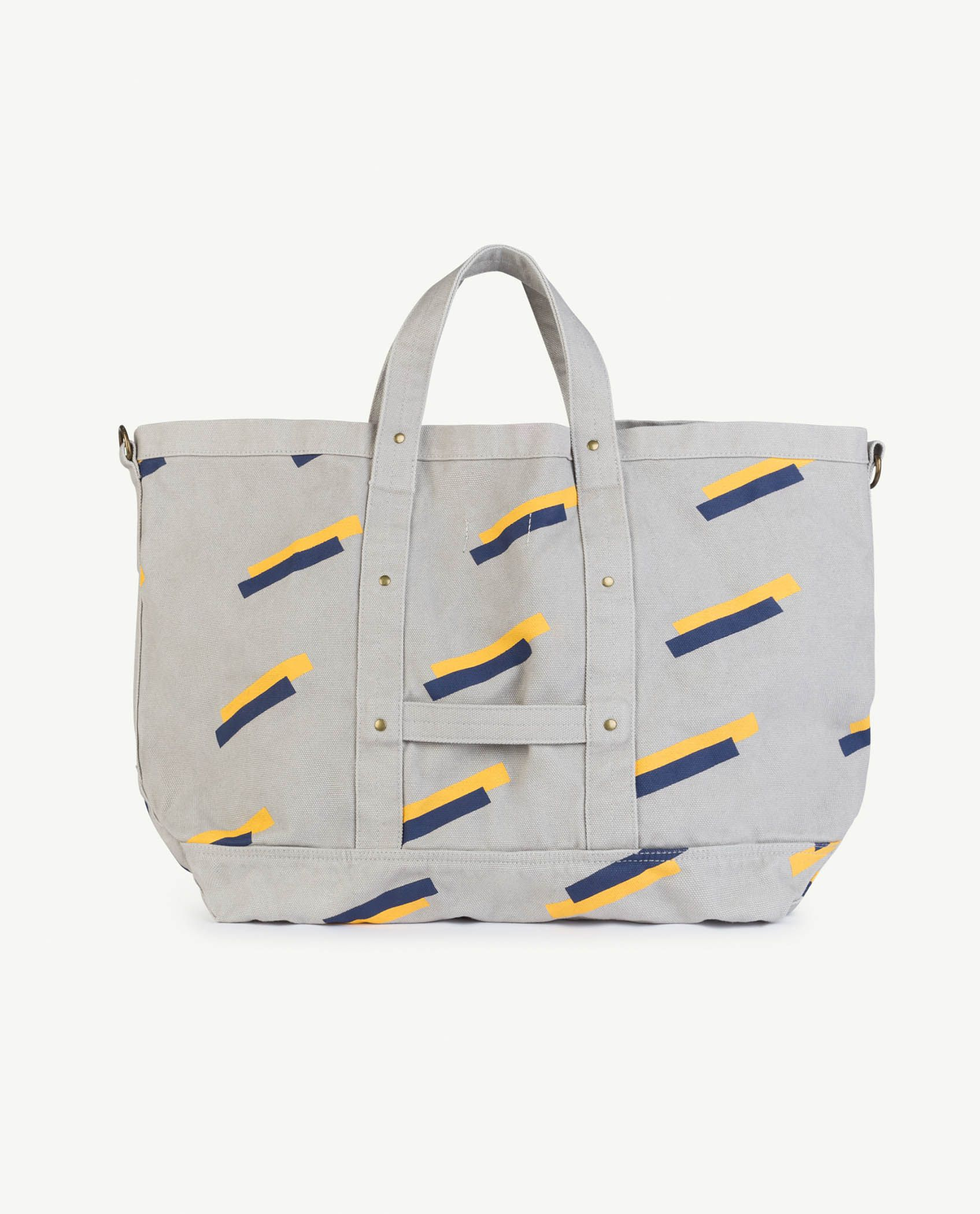 Grey 80's Canvas Bag img-2