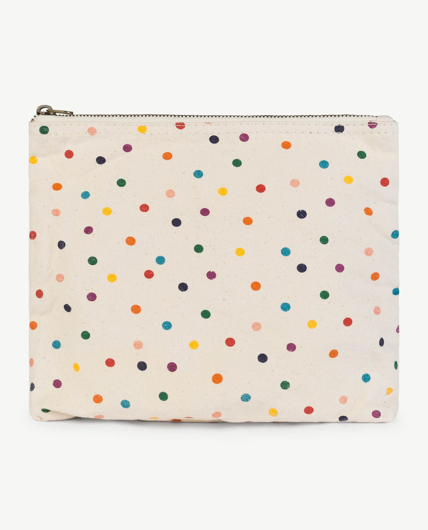 Raw White Dots Pouch img-1