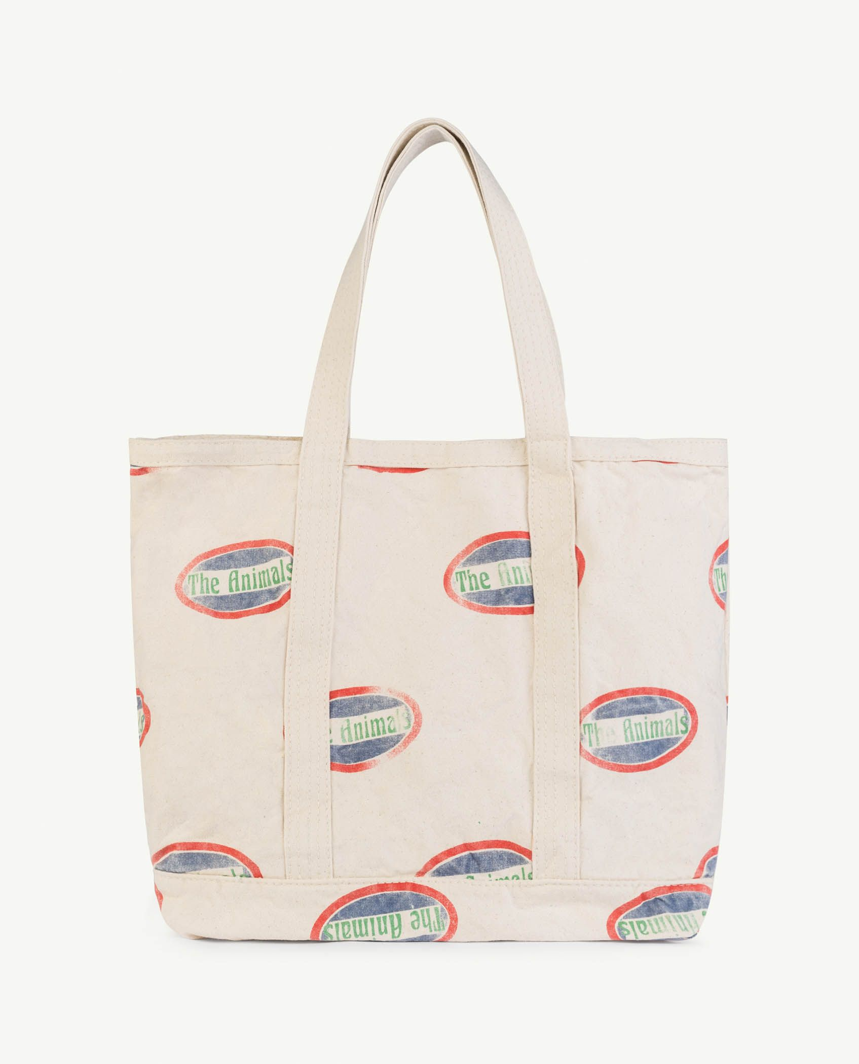 Raw White Animals Straps Tote Bag img-2