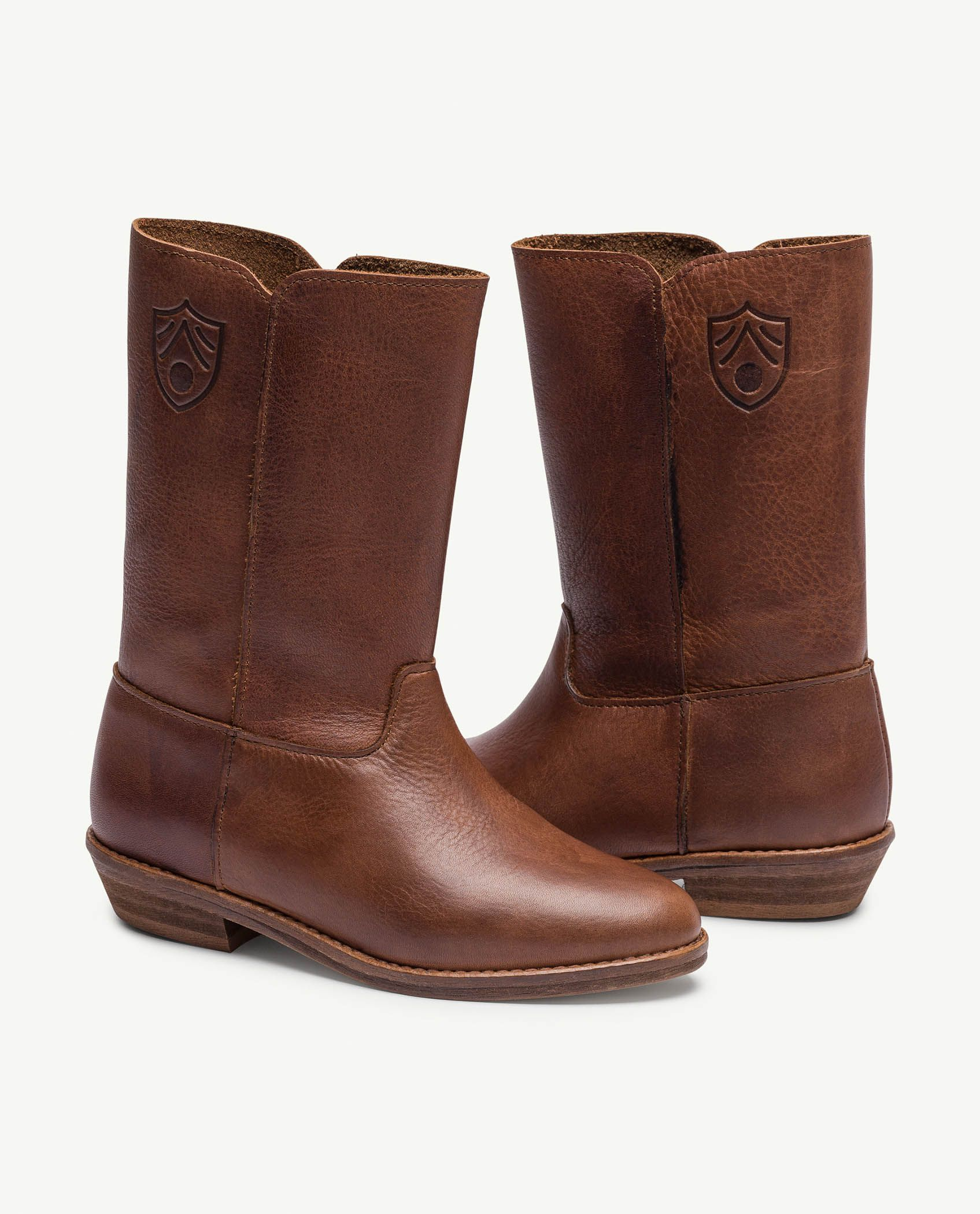 Deep Brown Coyote Boots img-1