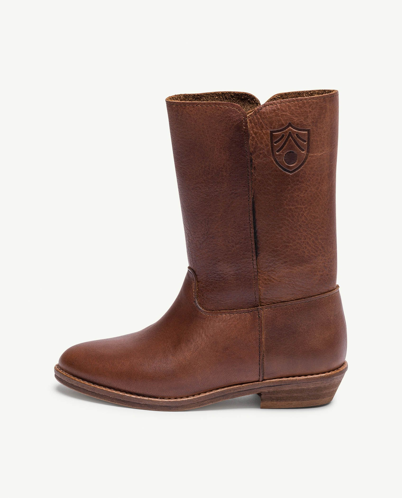 Deep Brown Coyote Boots img-2