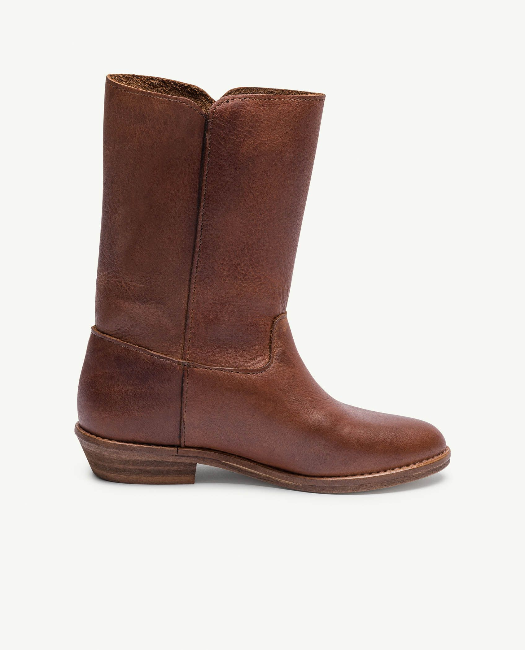 Deep Brown Coyote Boots img-3