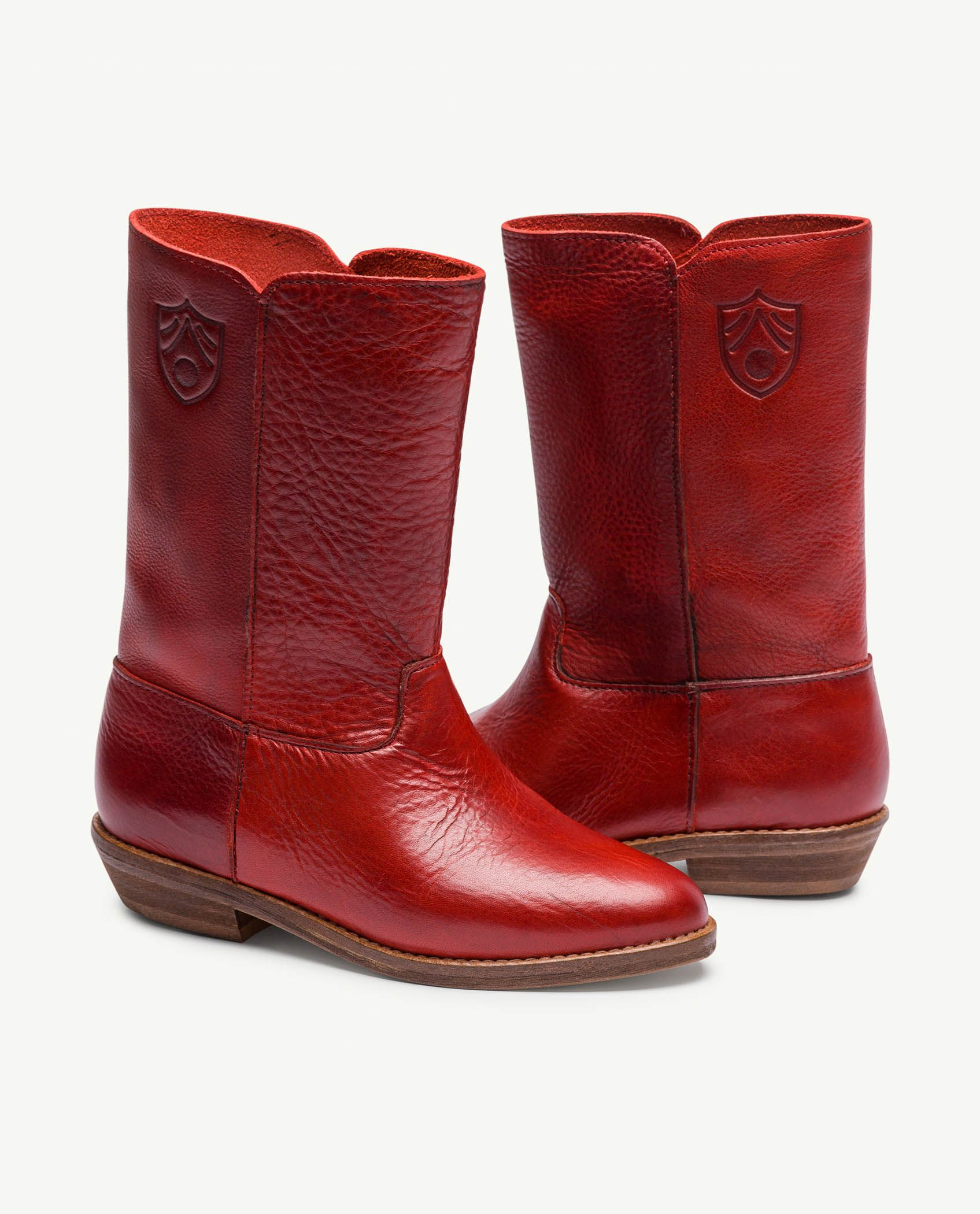 Red Logo Coyote Boots img-1