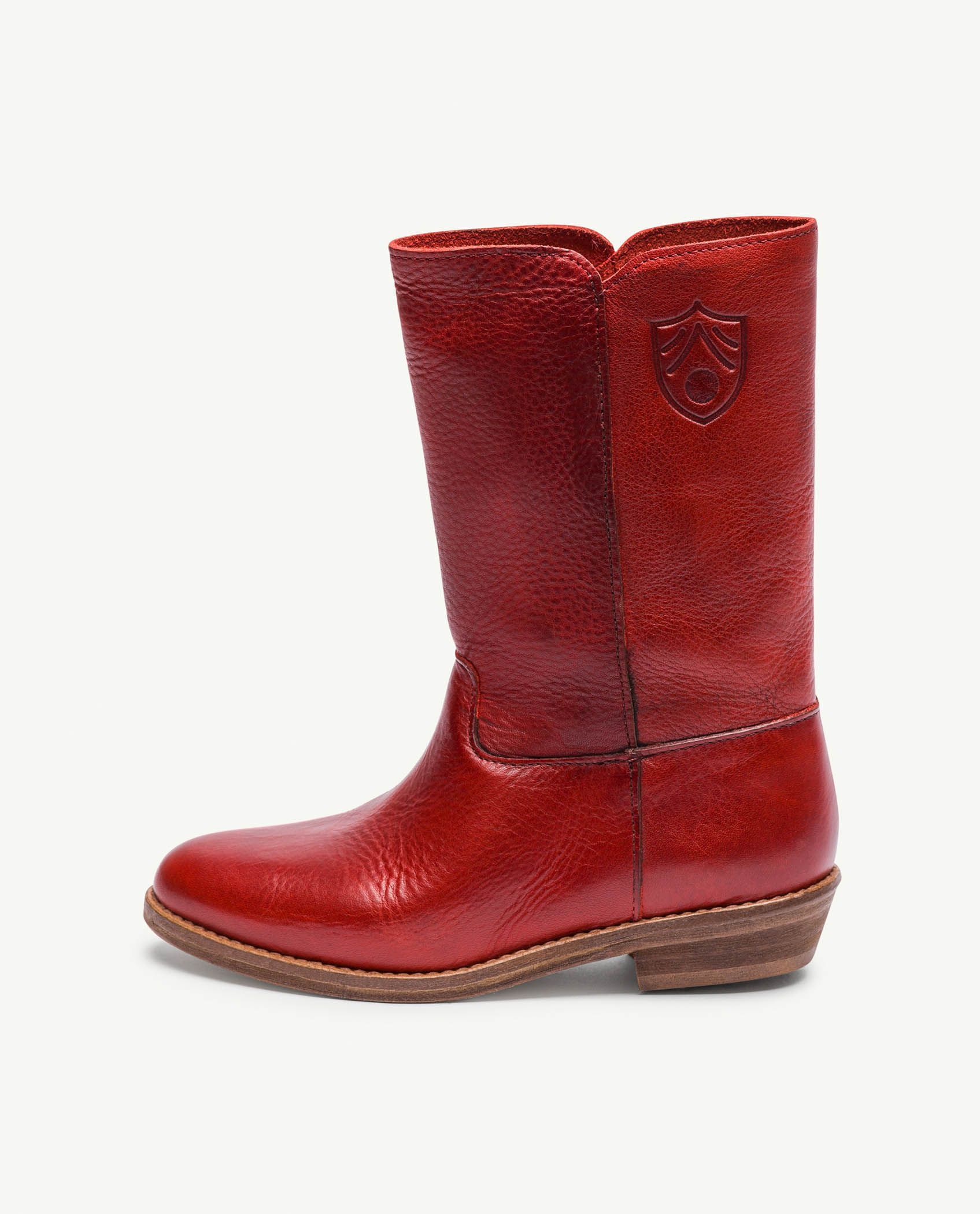 Red Logo Coyote Boots img-2