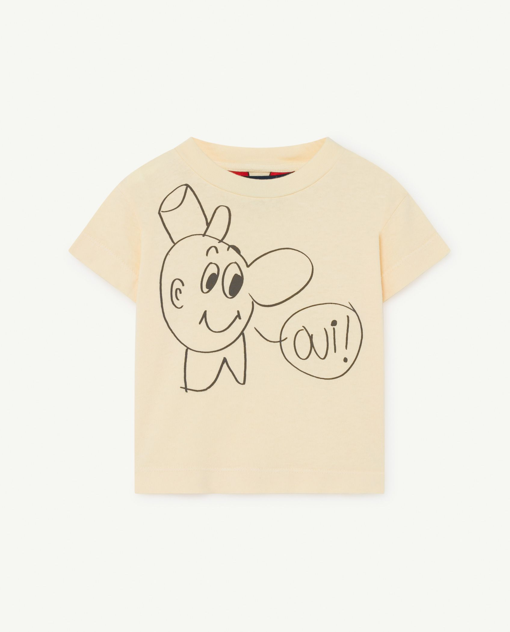 Mauve Rooster Baby T-Shirt img-1
