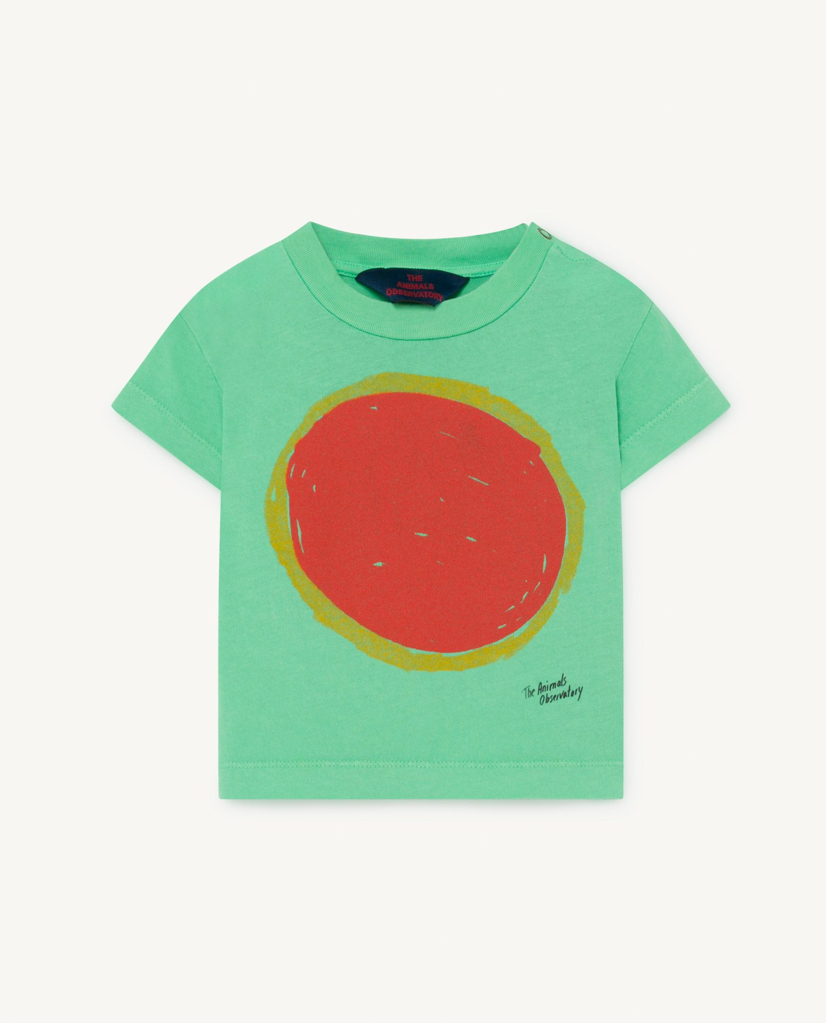 Green Rooster Baby T-Shirt img-1