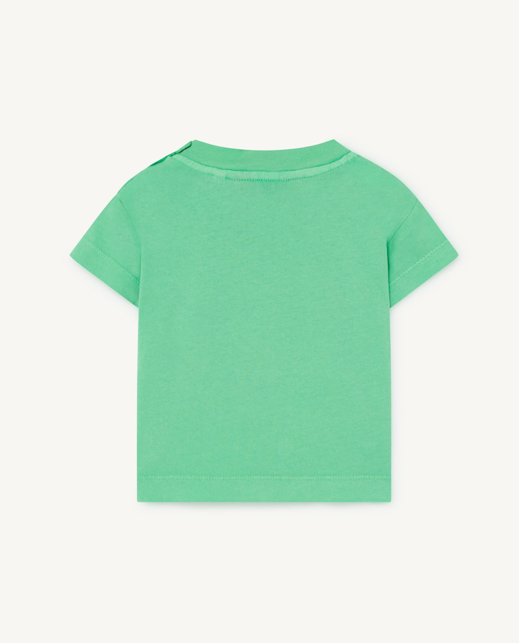 Green Rooster Baby T-Shirt img-2