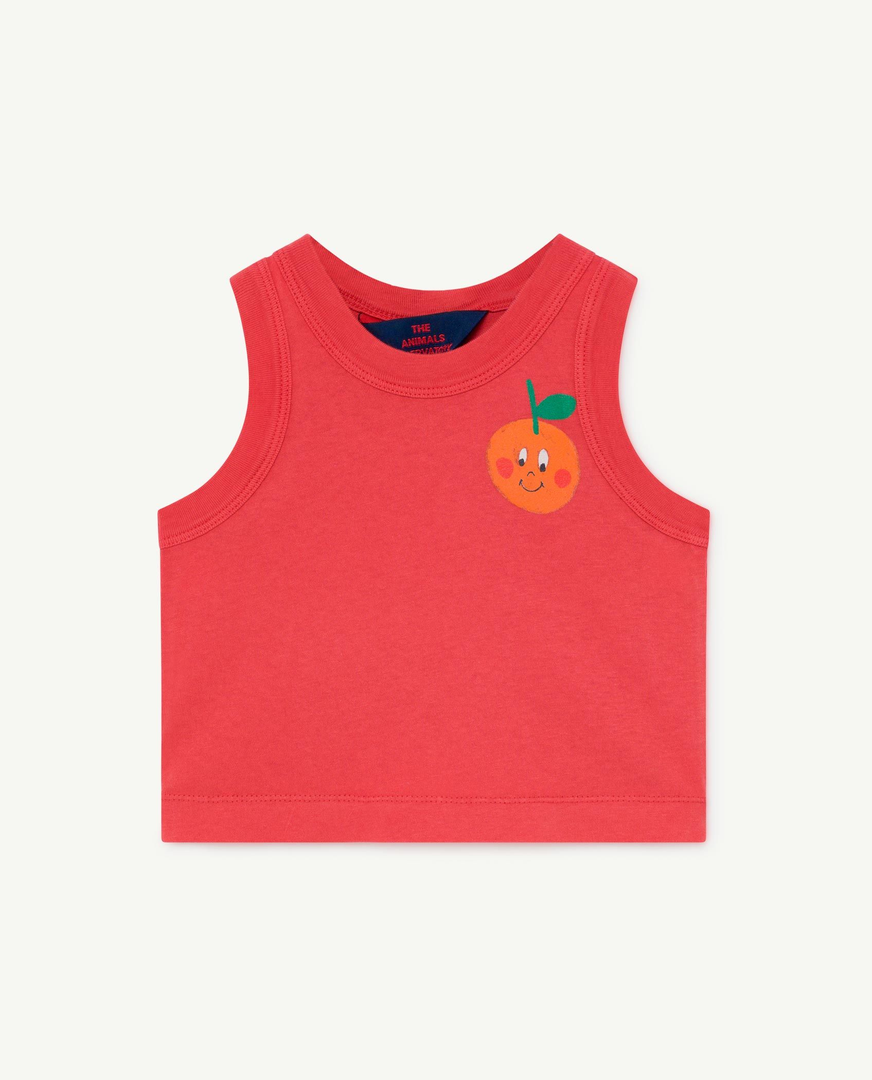 Red Frog Baby Tank Top img-1
