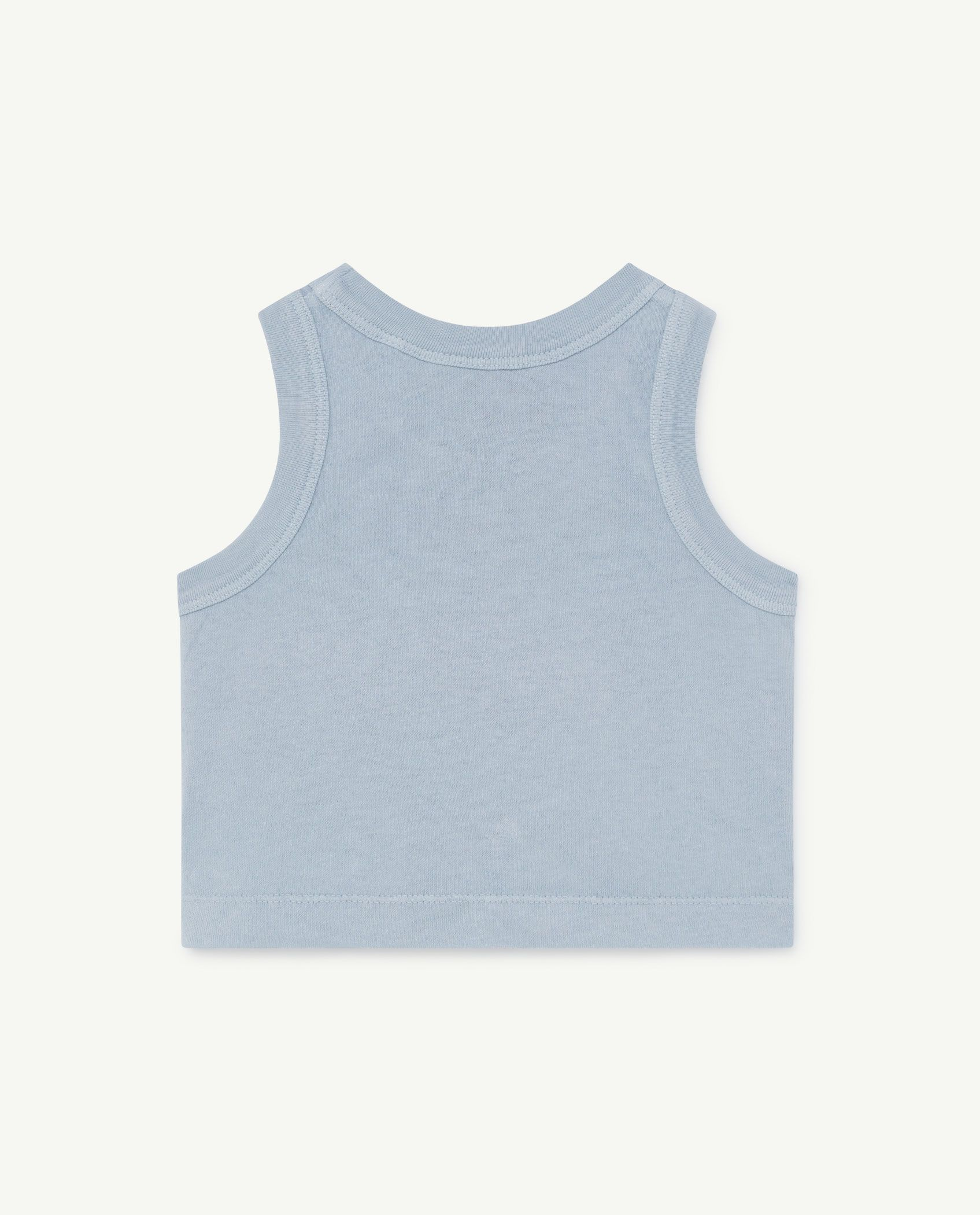 Pale Blue Frog Baby T-Shirt img-2