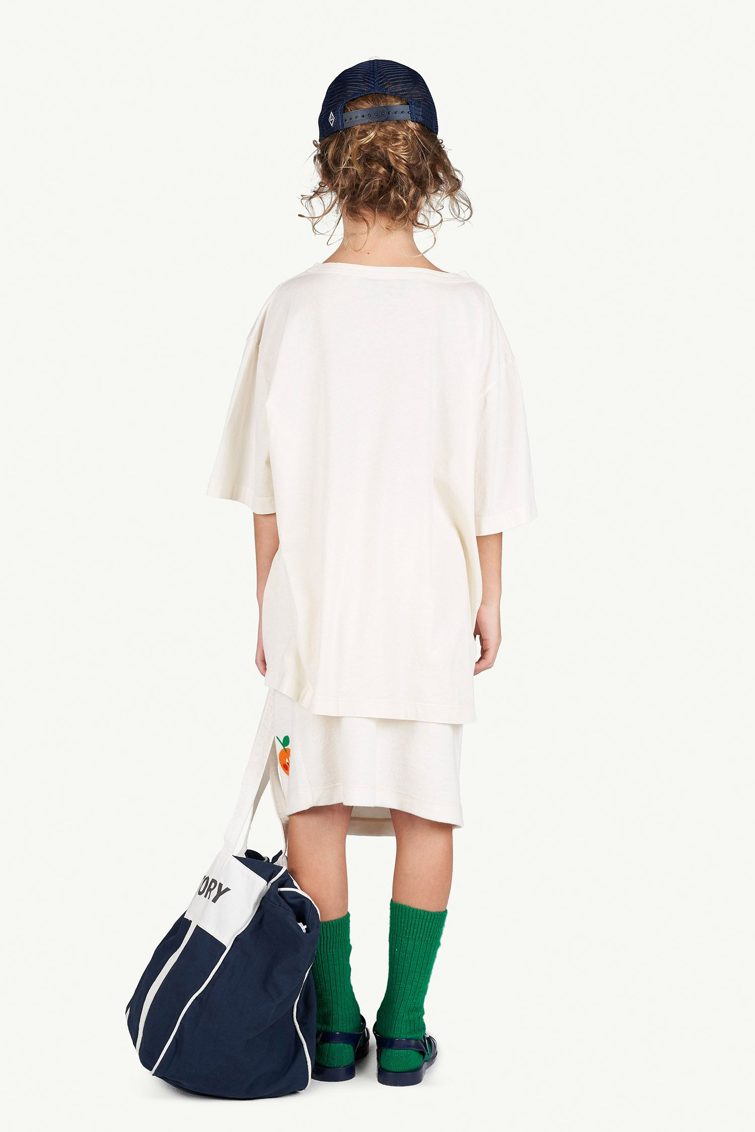 White Oversize Rooster T-Shirt img-6