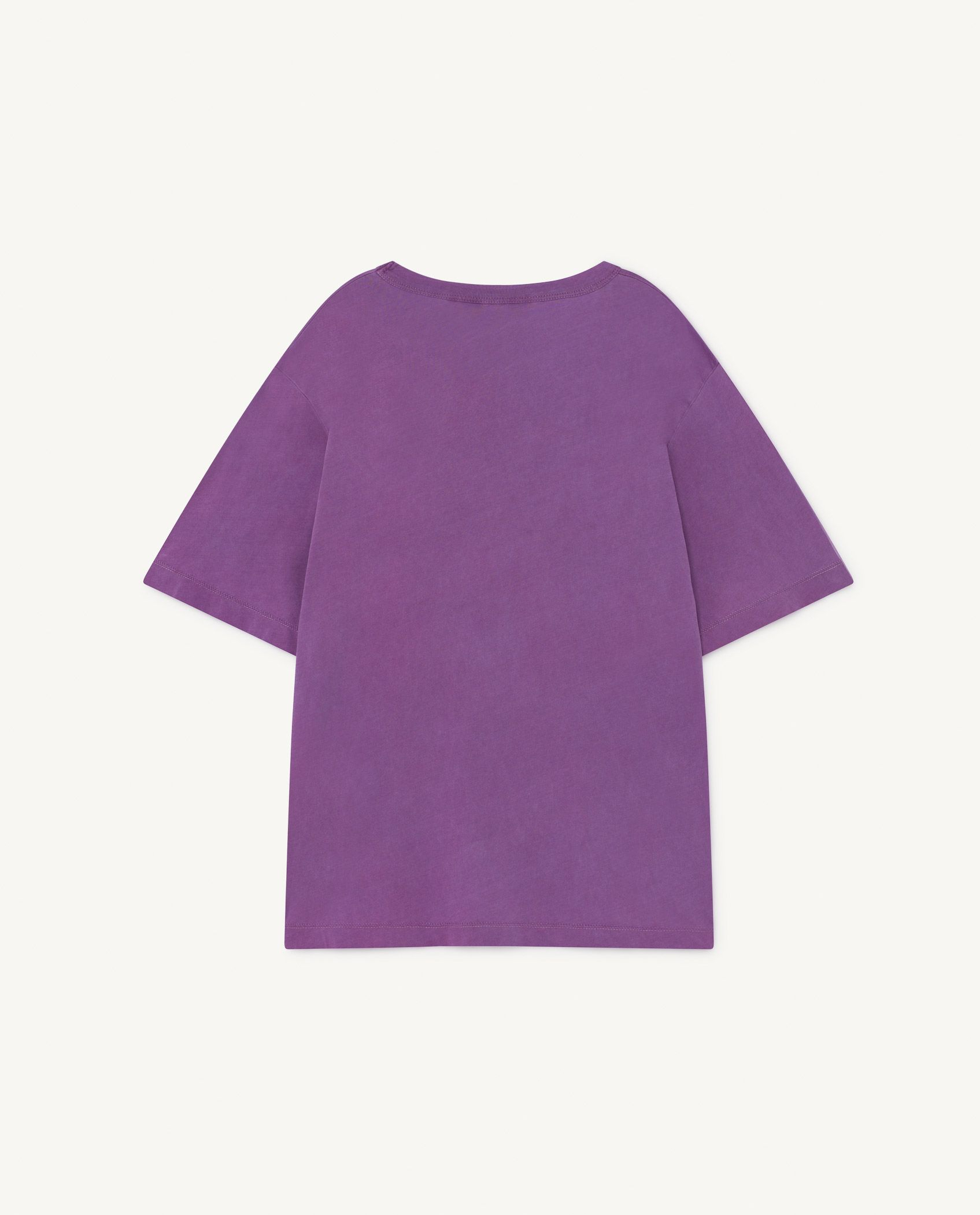 Purple Oversize Rooster T-Shirt img-2