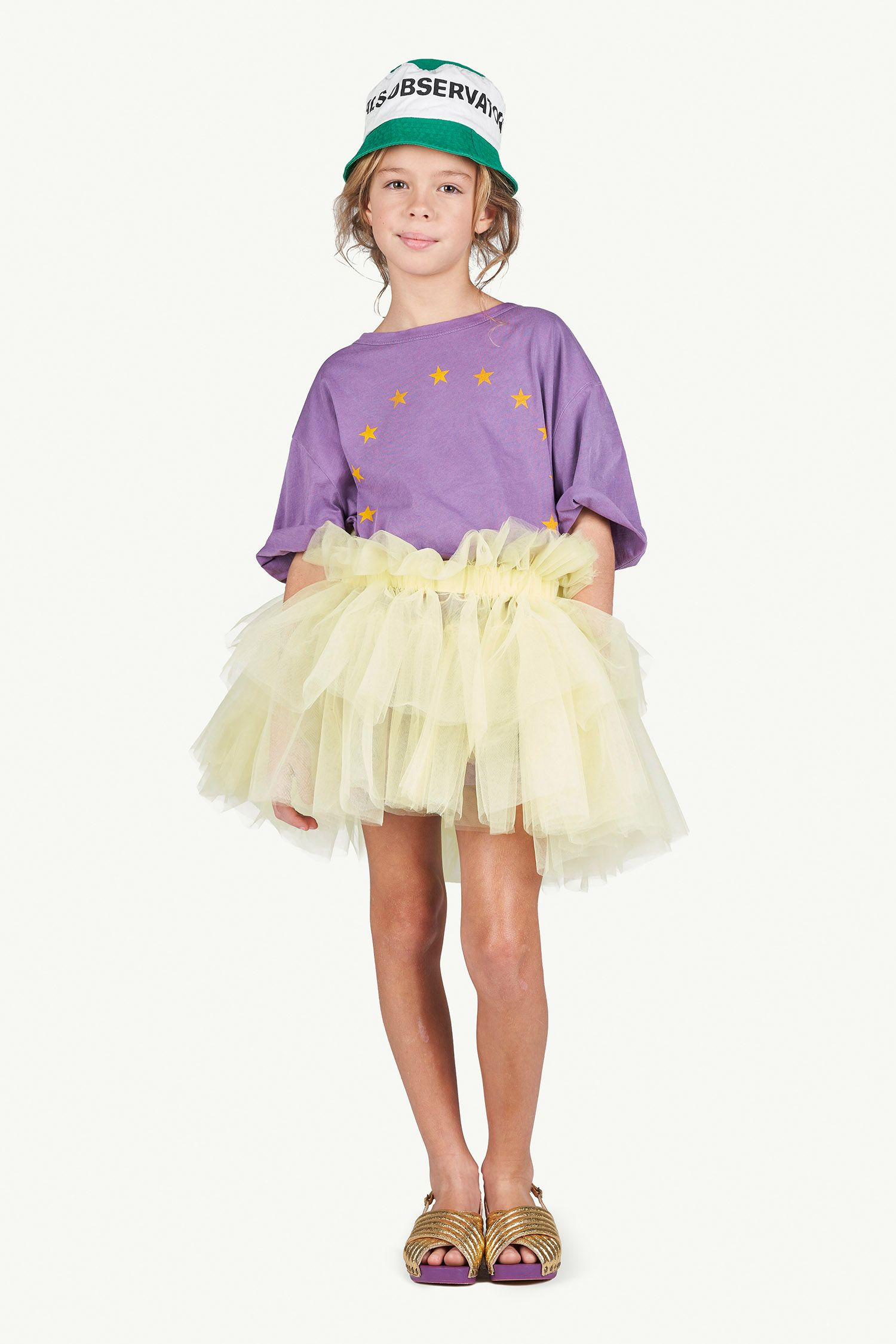 Purple Oversize Rooster T-Shirt img-4