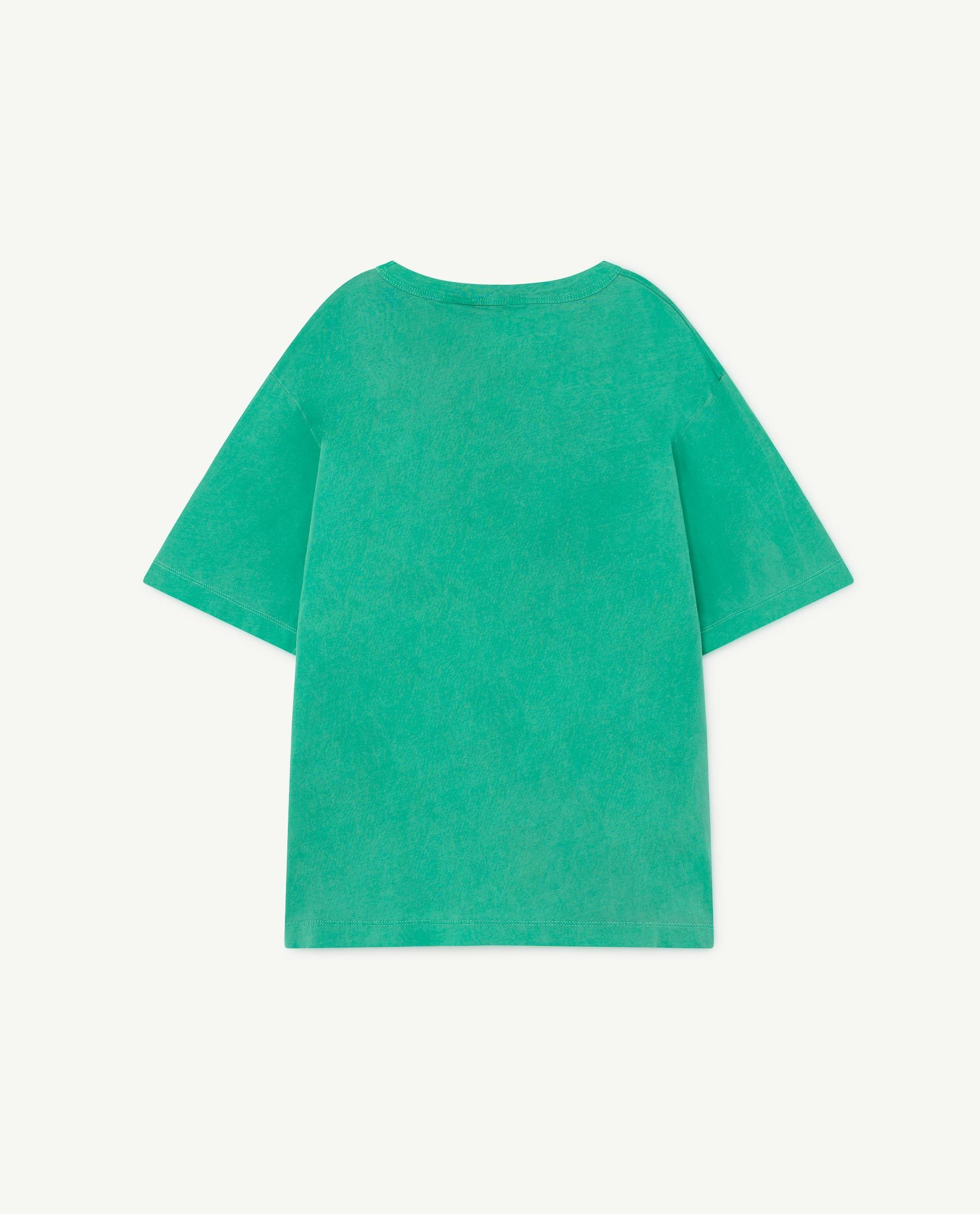 Green Oversize Rooster T-Shirt img-2