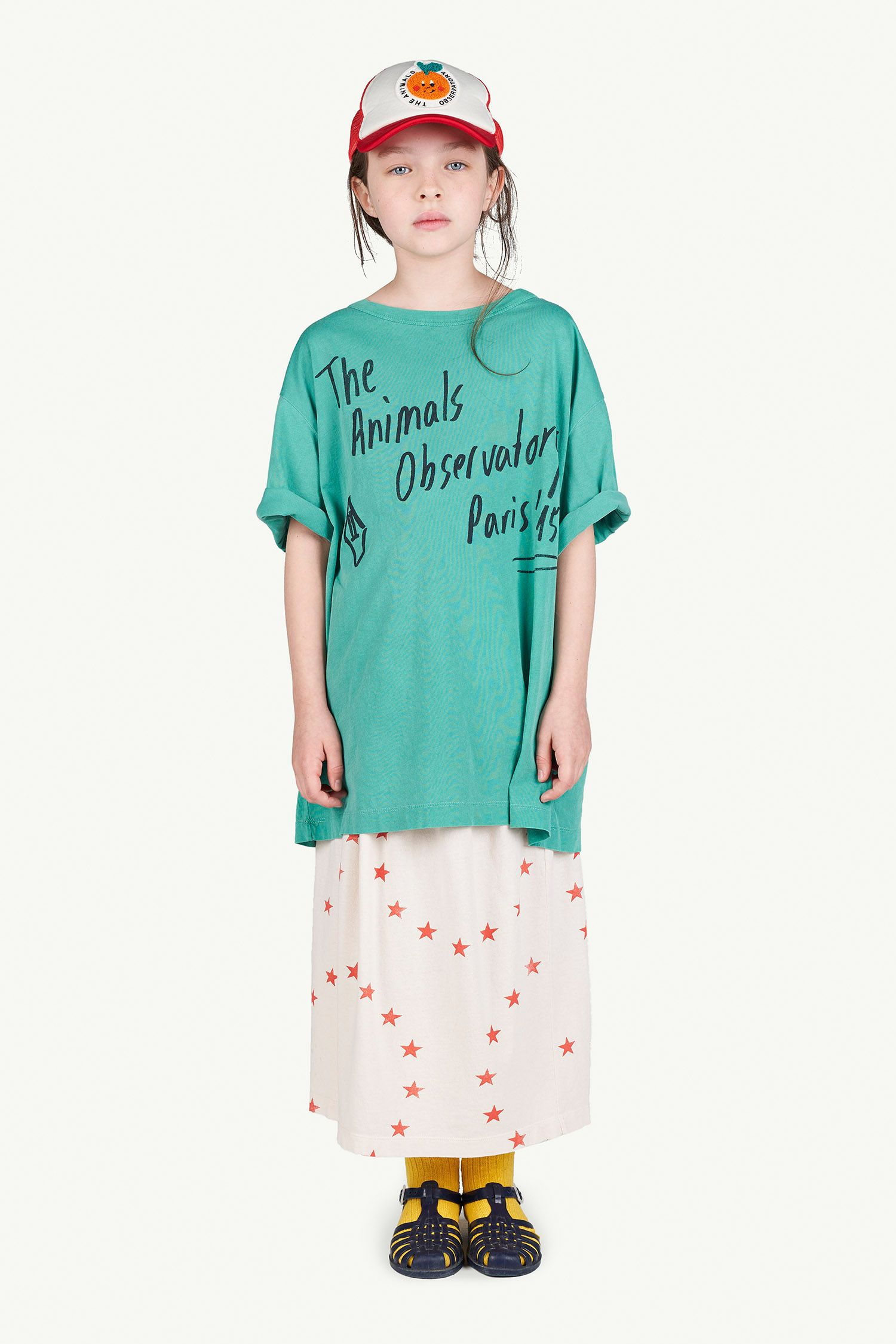 Green Oversize Rooster T-Shirt img-4