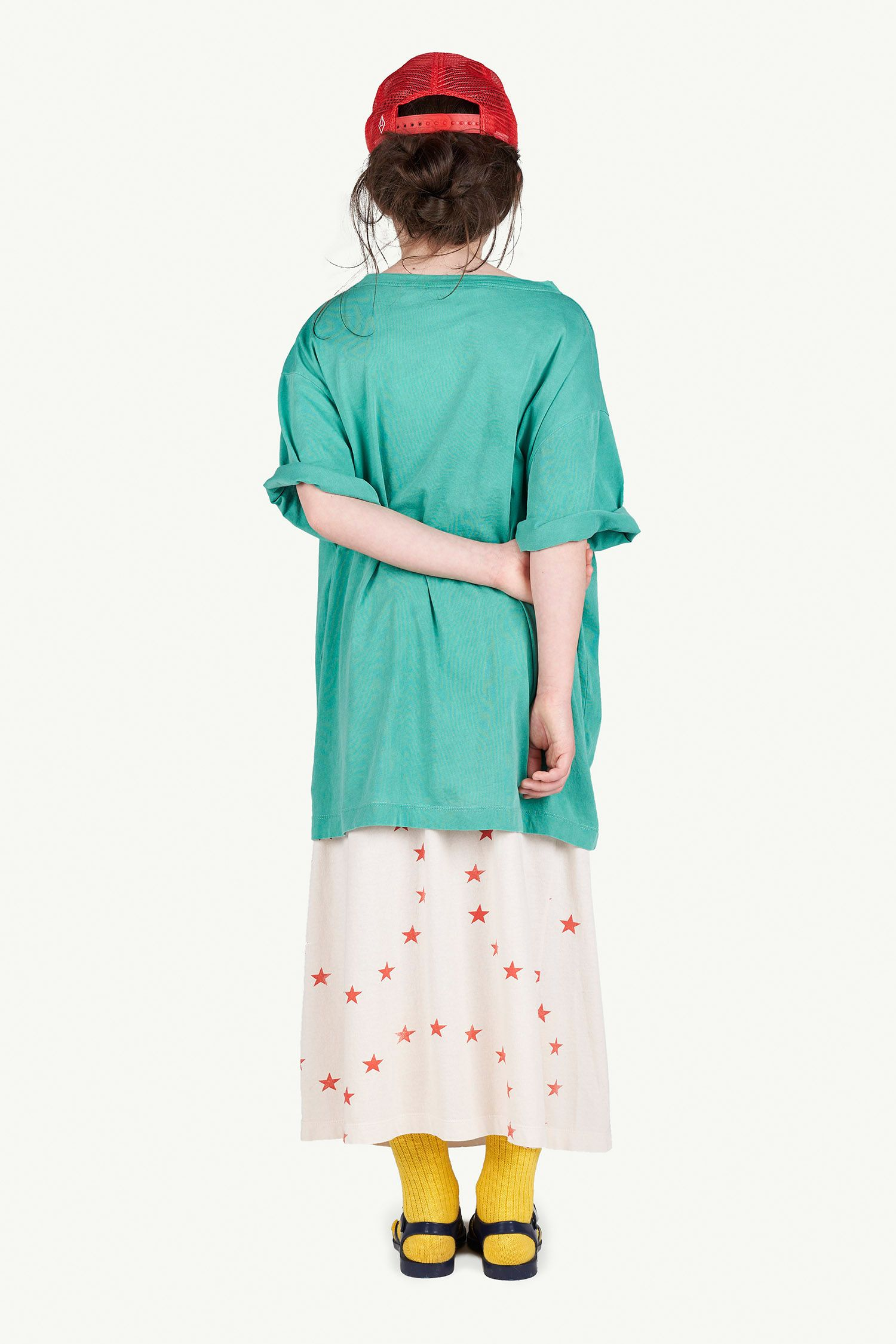 Green Oversize Rooster T-Shirt img-6