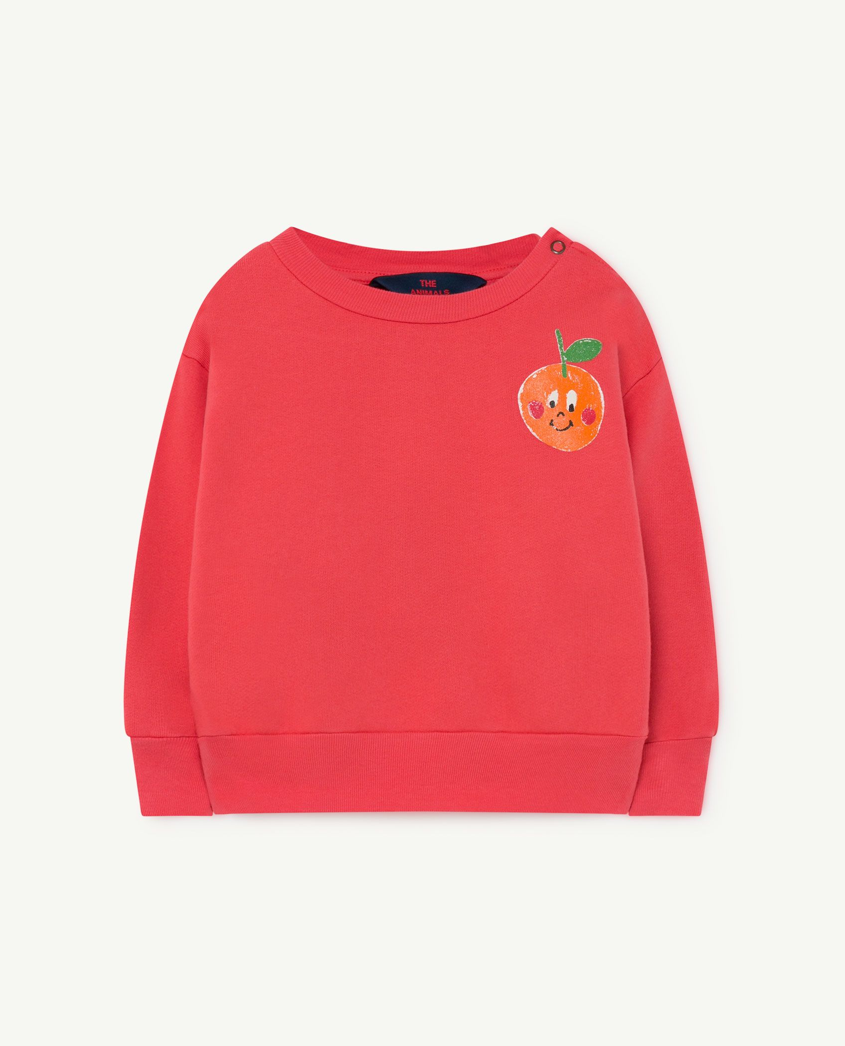Red Baby Bear Sweatshirt img-1