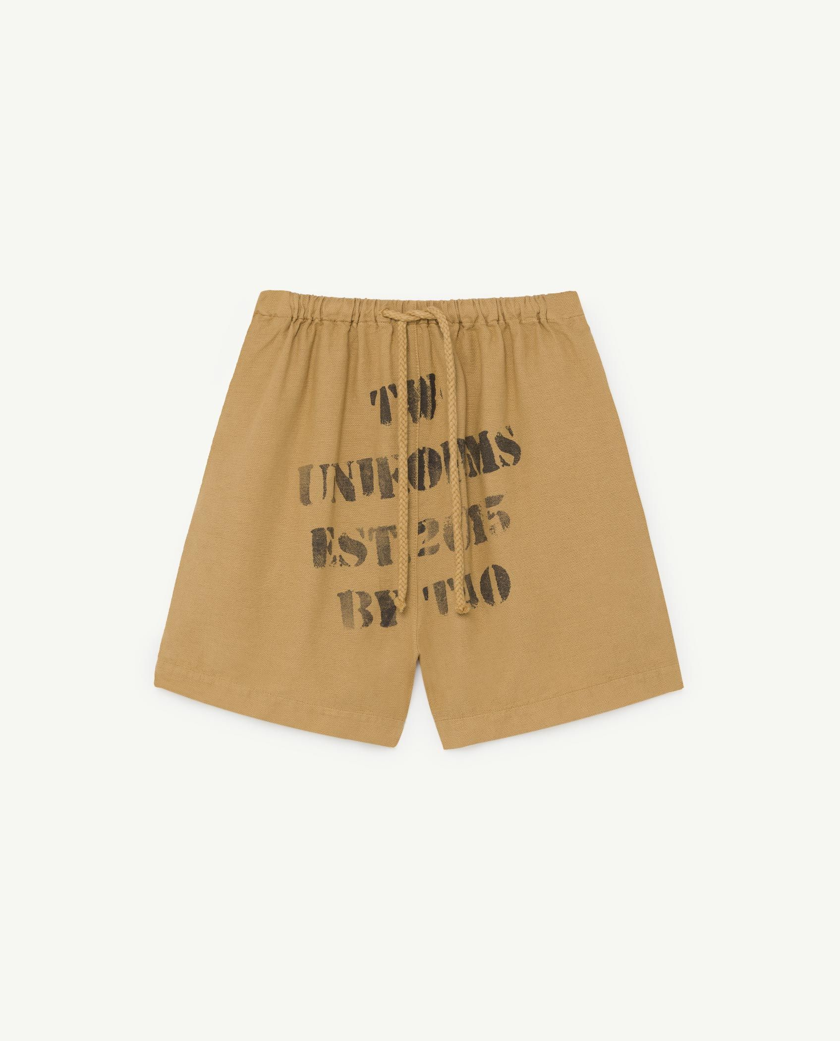 Brown Bee Bermudas img-1