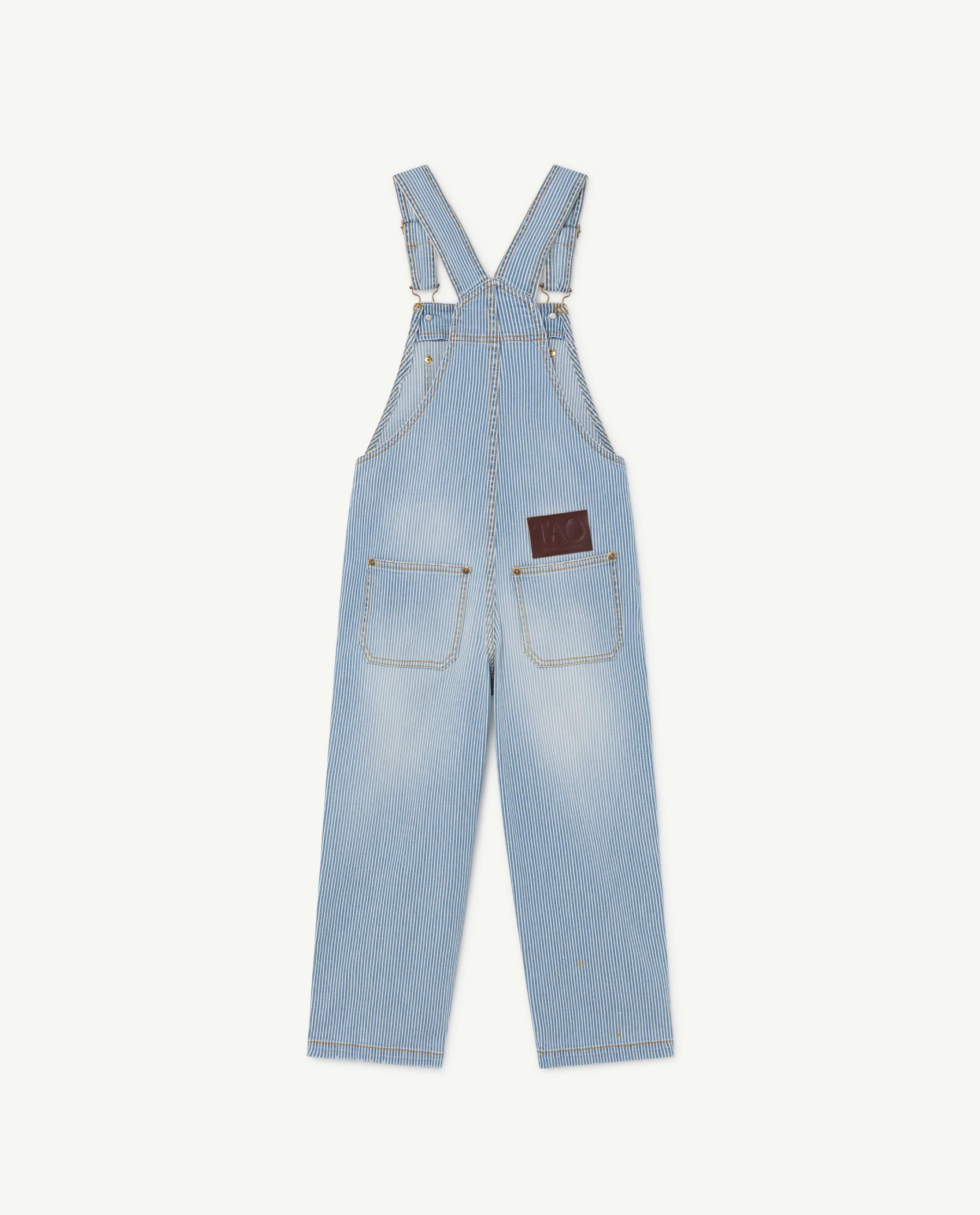 Striped Mule Dungaree img-2