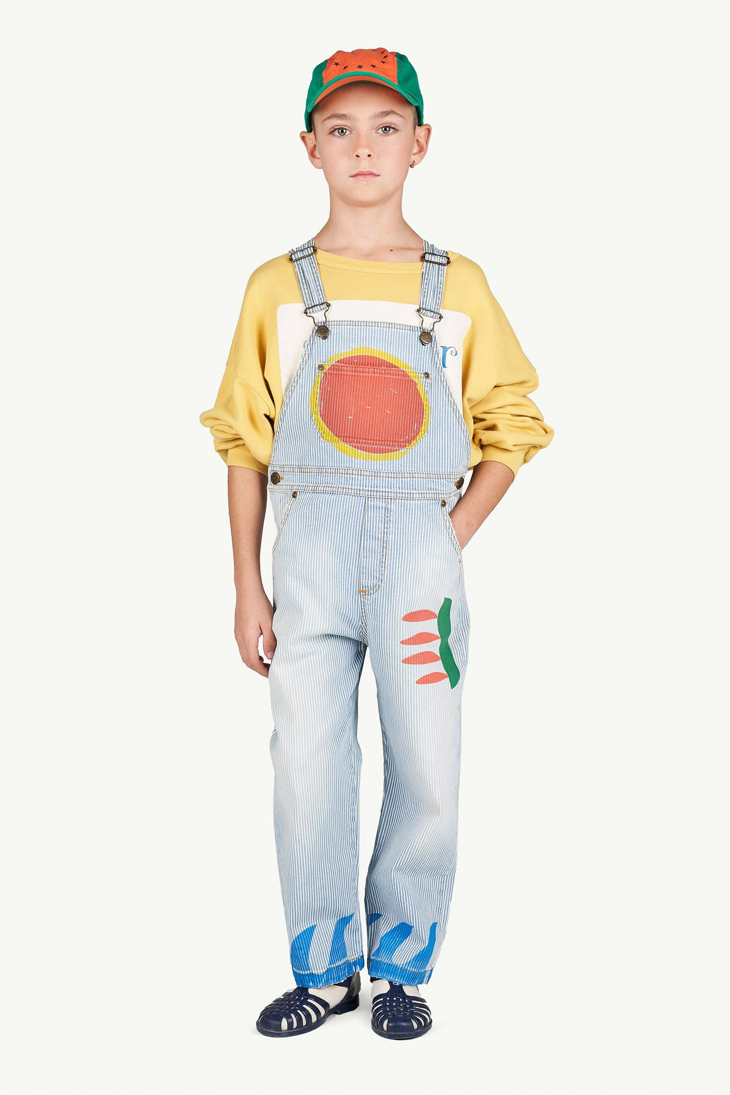 Striped Mule Dungaree img-4