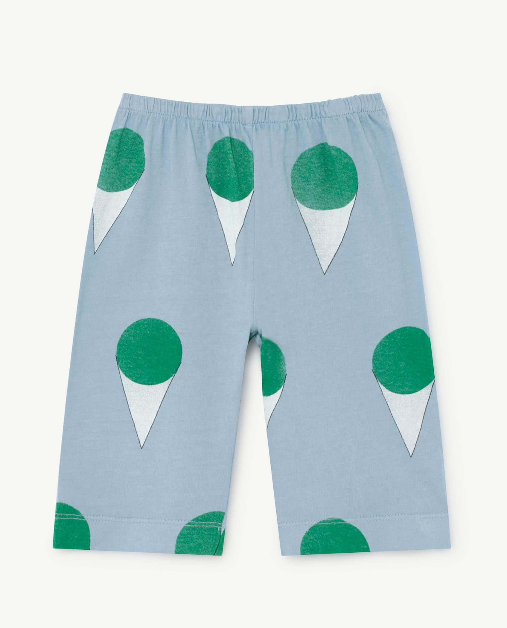 Pale Blue Horse Baby Pants img-1
