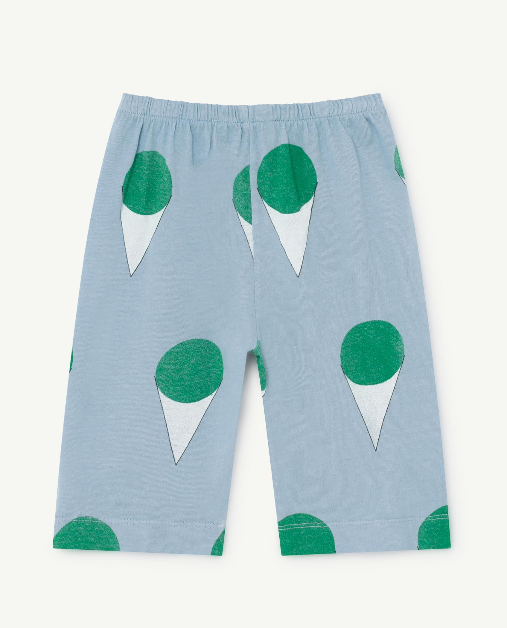 Pale Blue Horse Baby Pants img-2