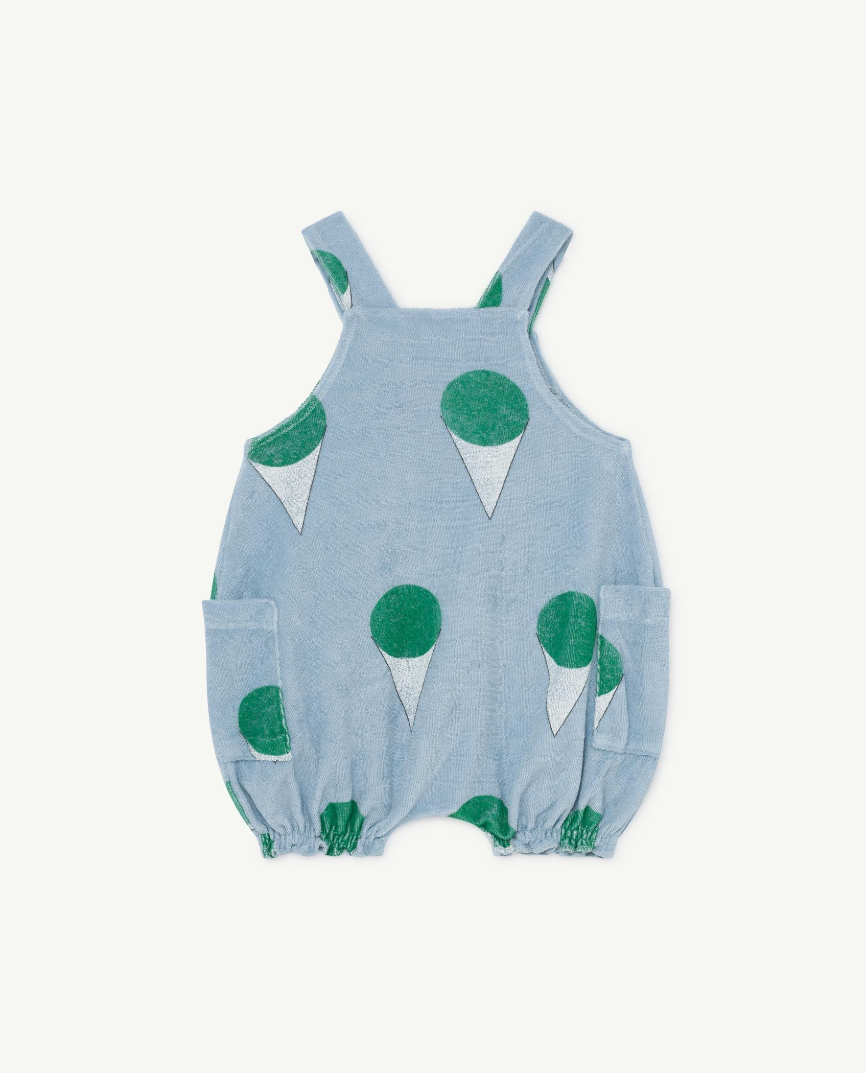 Pale Blue Boar Baby Dungaree img-2