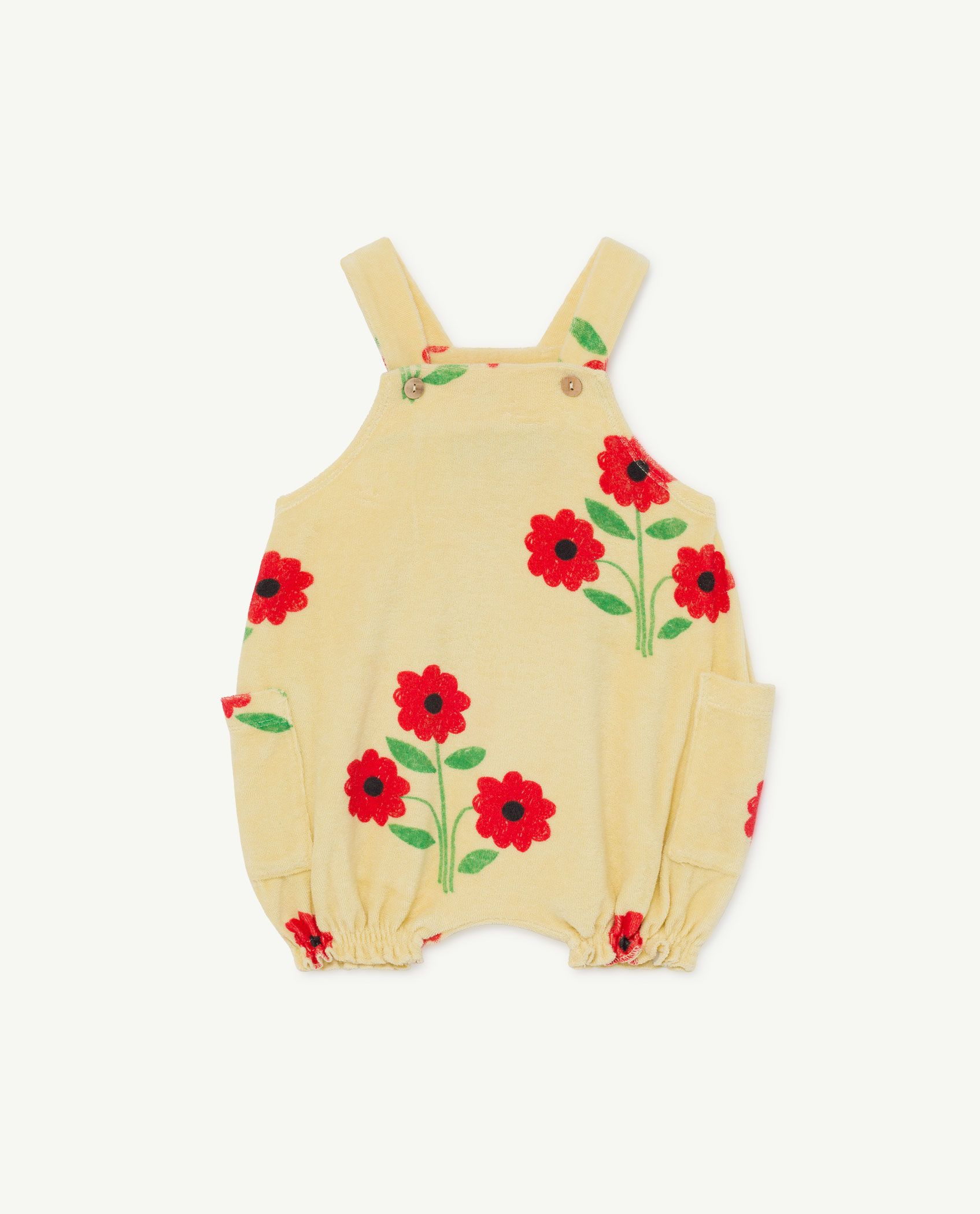Flower Boar Baby Dungaree img-1