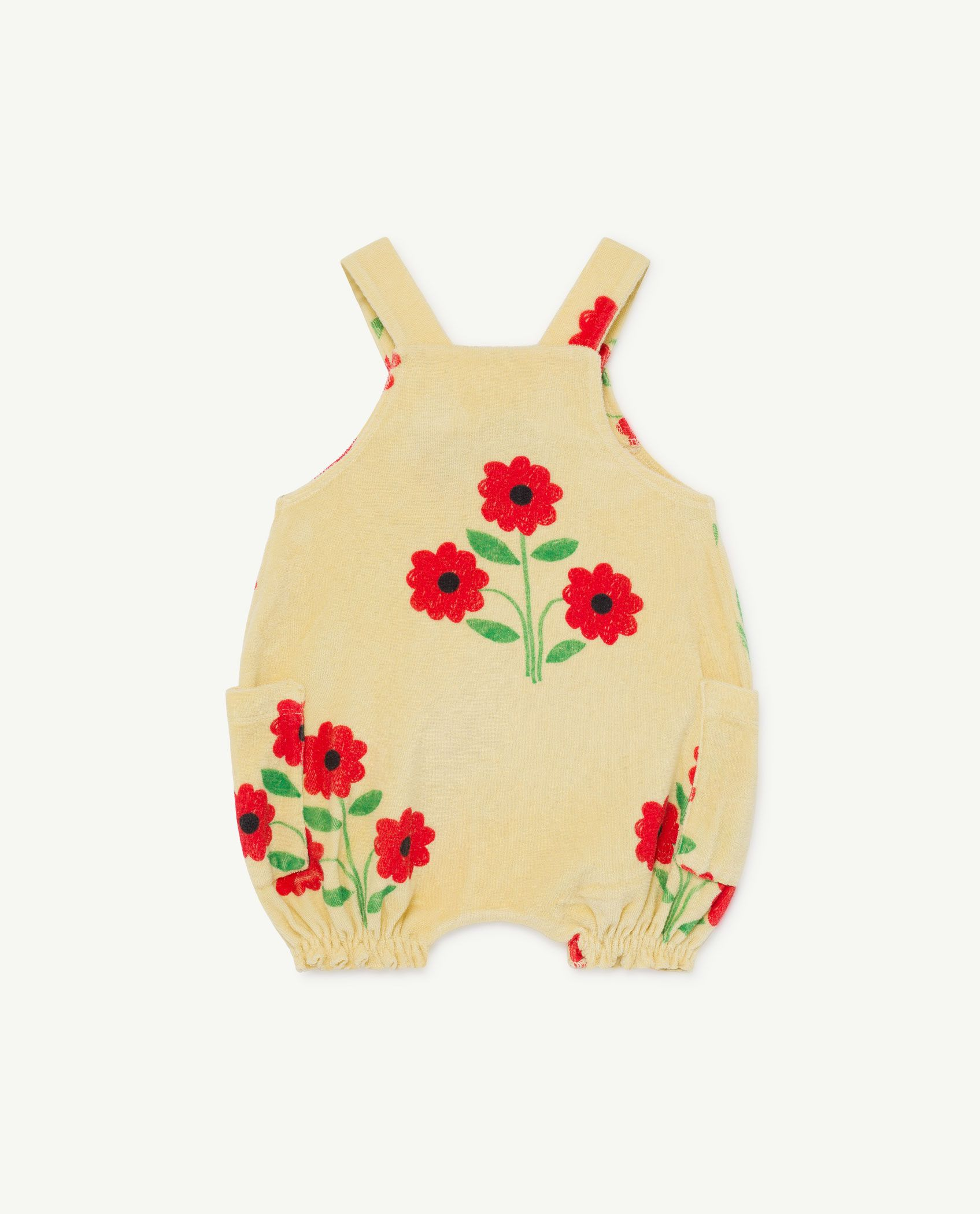 Flower Boar Baby Dungaree img-2
