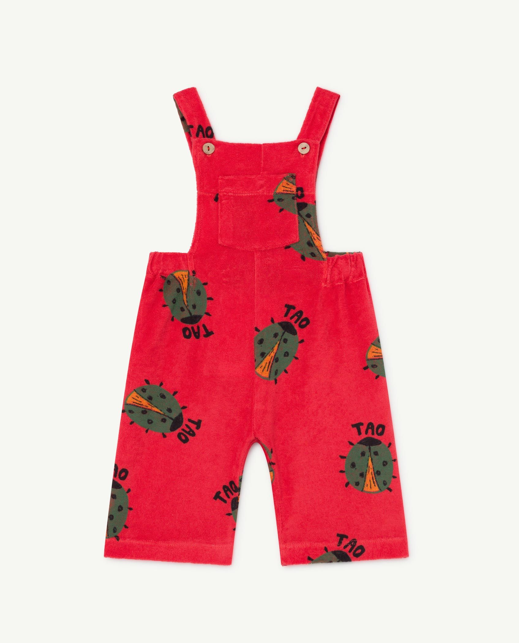 Red Eagle Baby Jumpsuit img-1