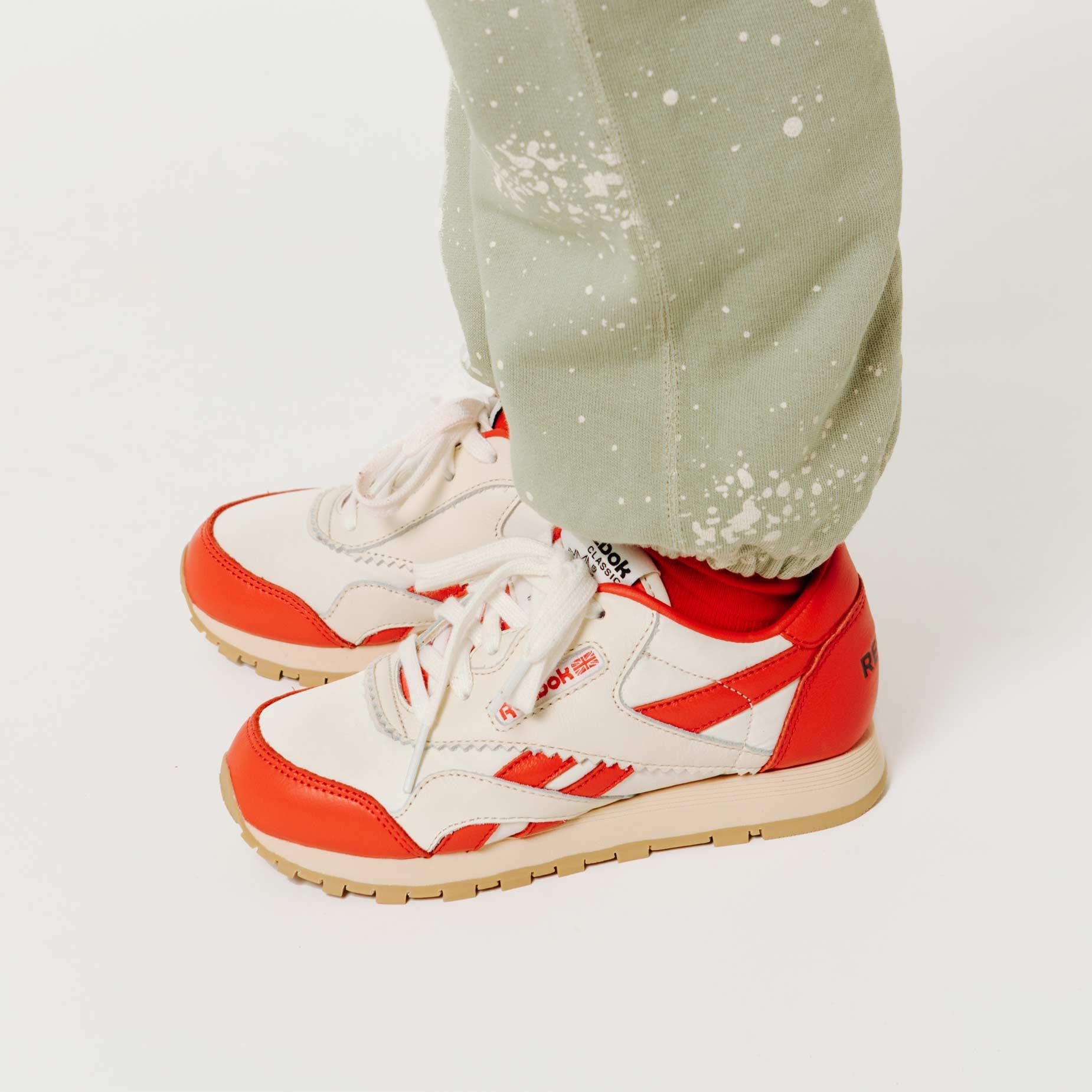 Reebok x The Animals Observatory Classic Nylon Red Kid img-6