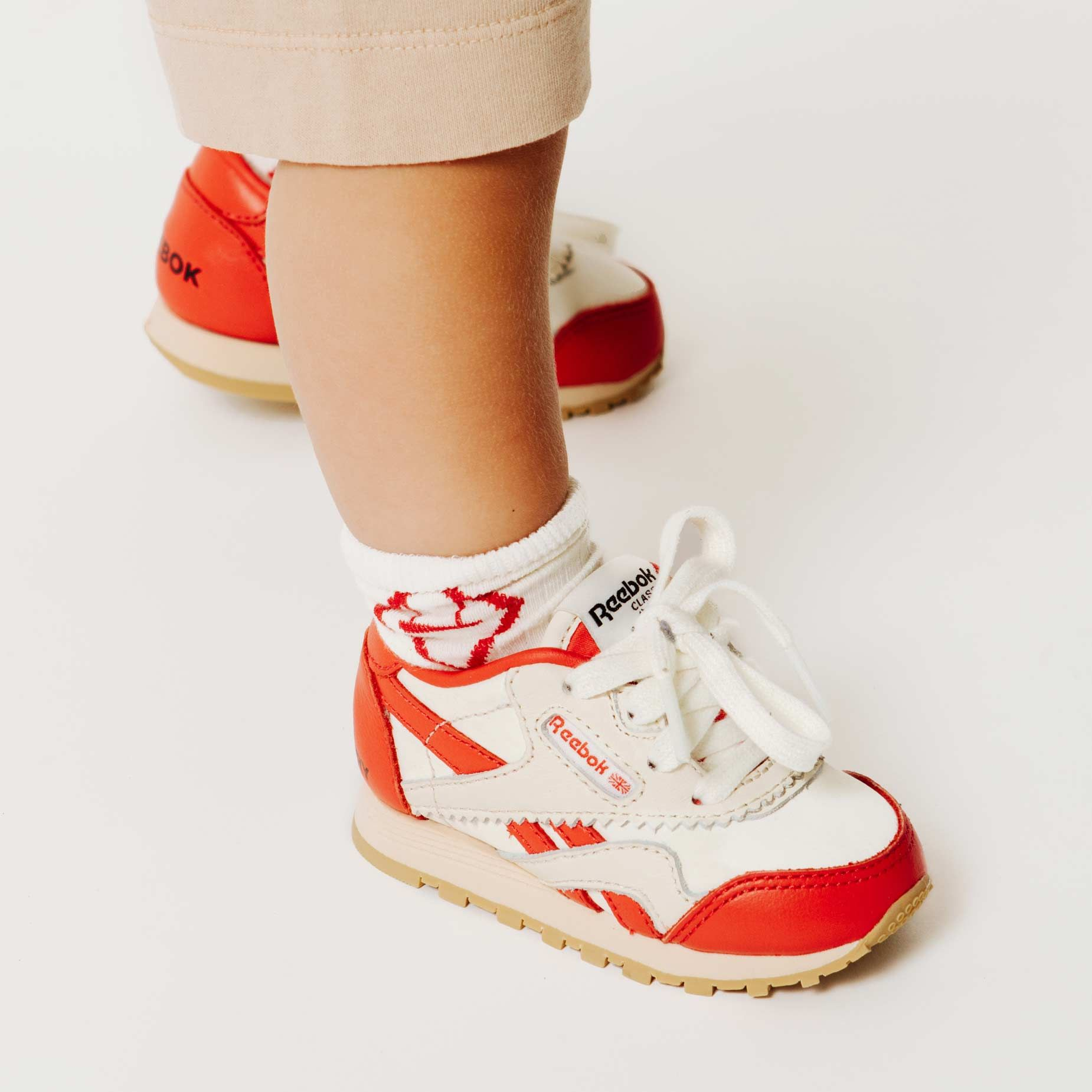 Reebok x The Animals Observatory Classic Nylon Red Baby img-6